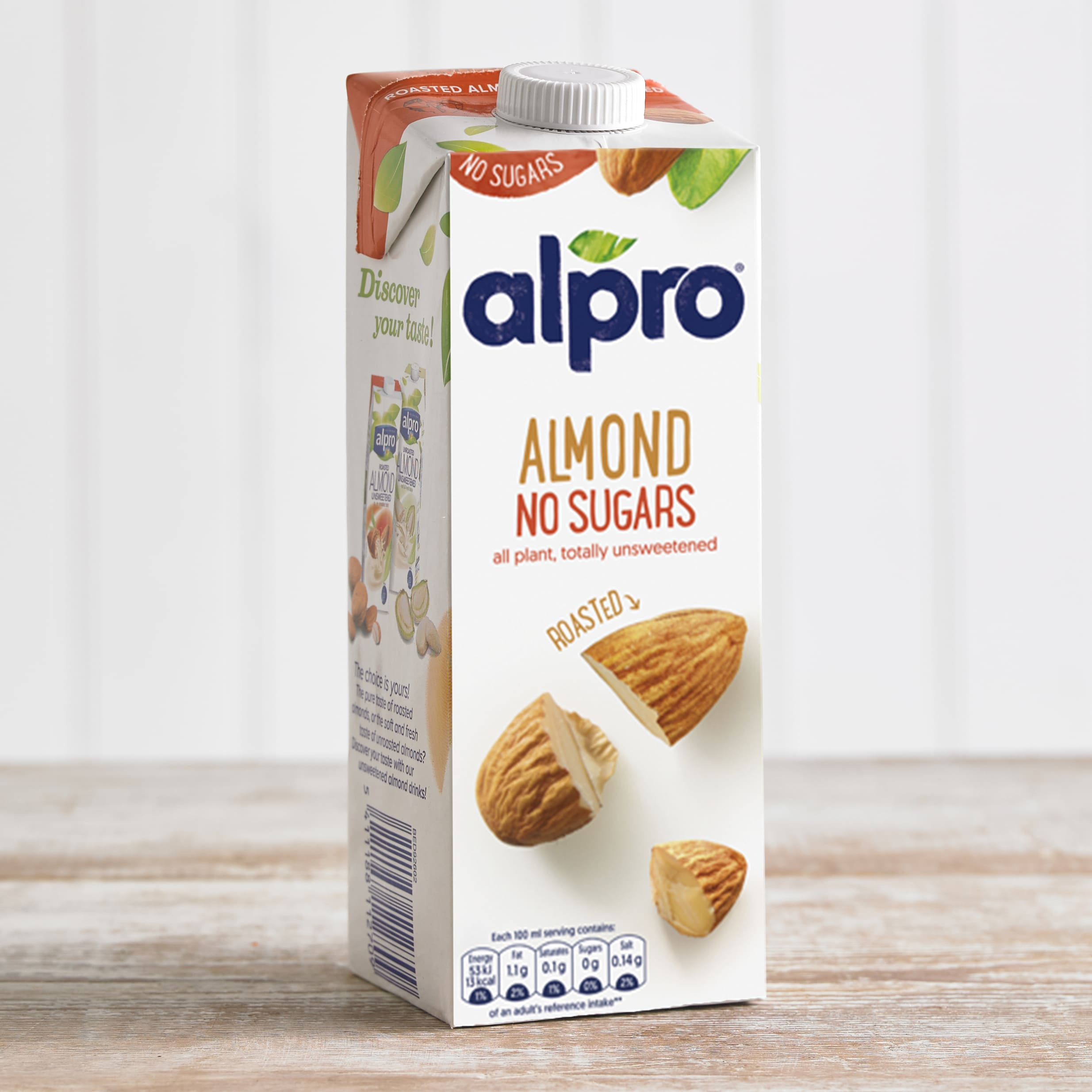 Alpro Unsweetened Almond Longlife Milk Alternative, 1L
