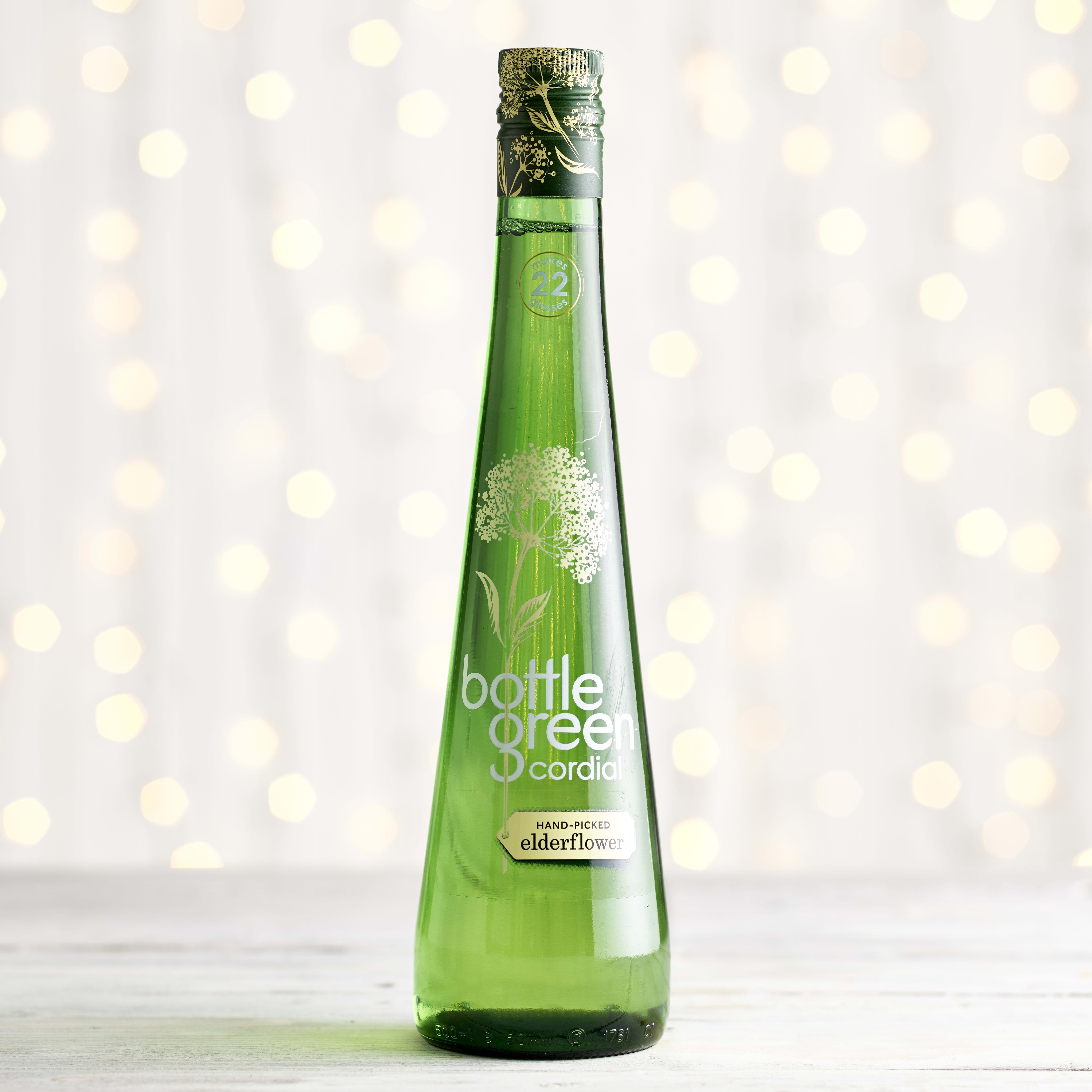Bottlegreen Elderflower Cordial in Glass, 500ml