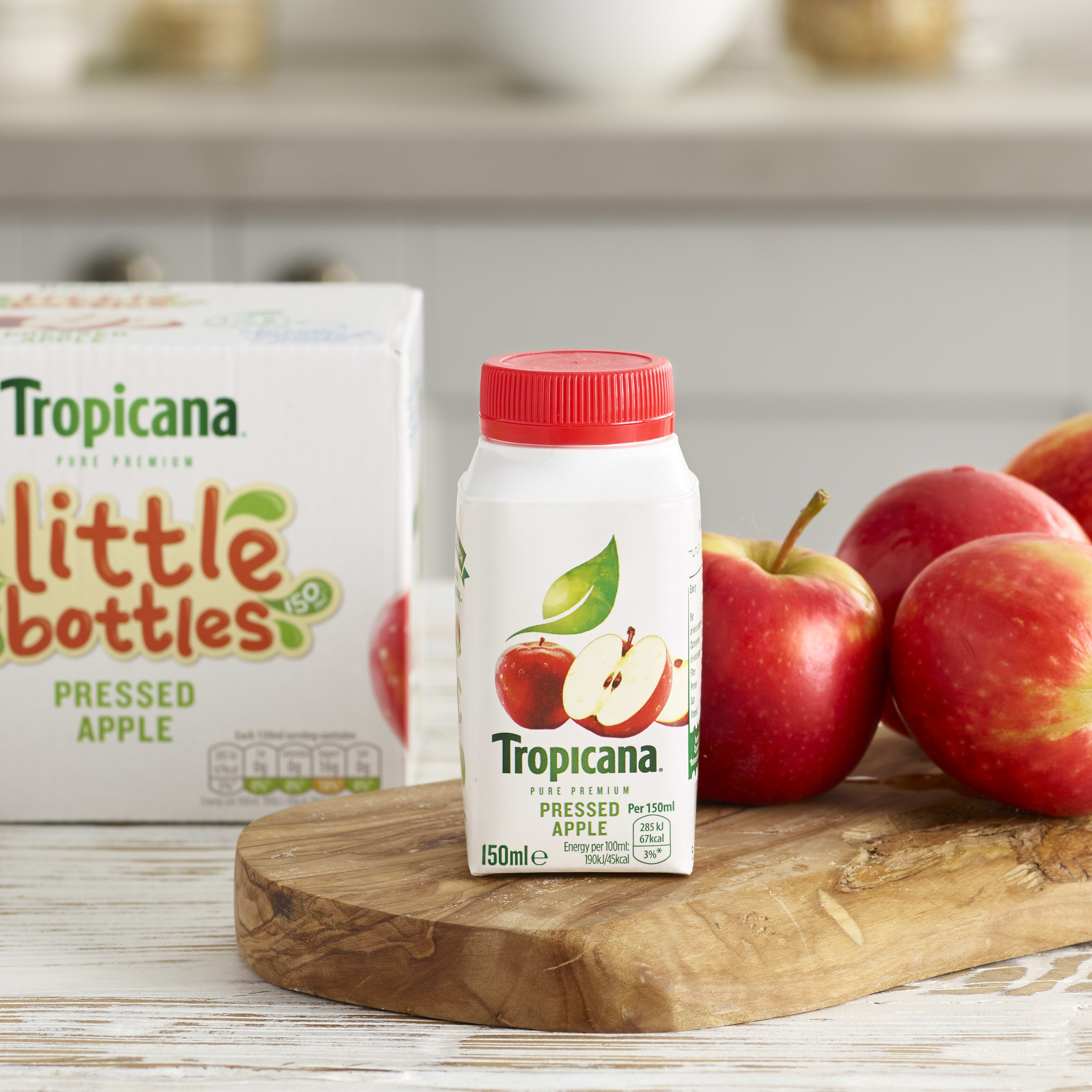 Tropicana little bottles, Apple 6 x 150ml