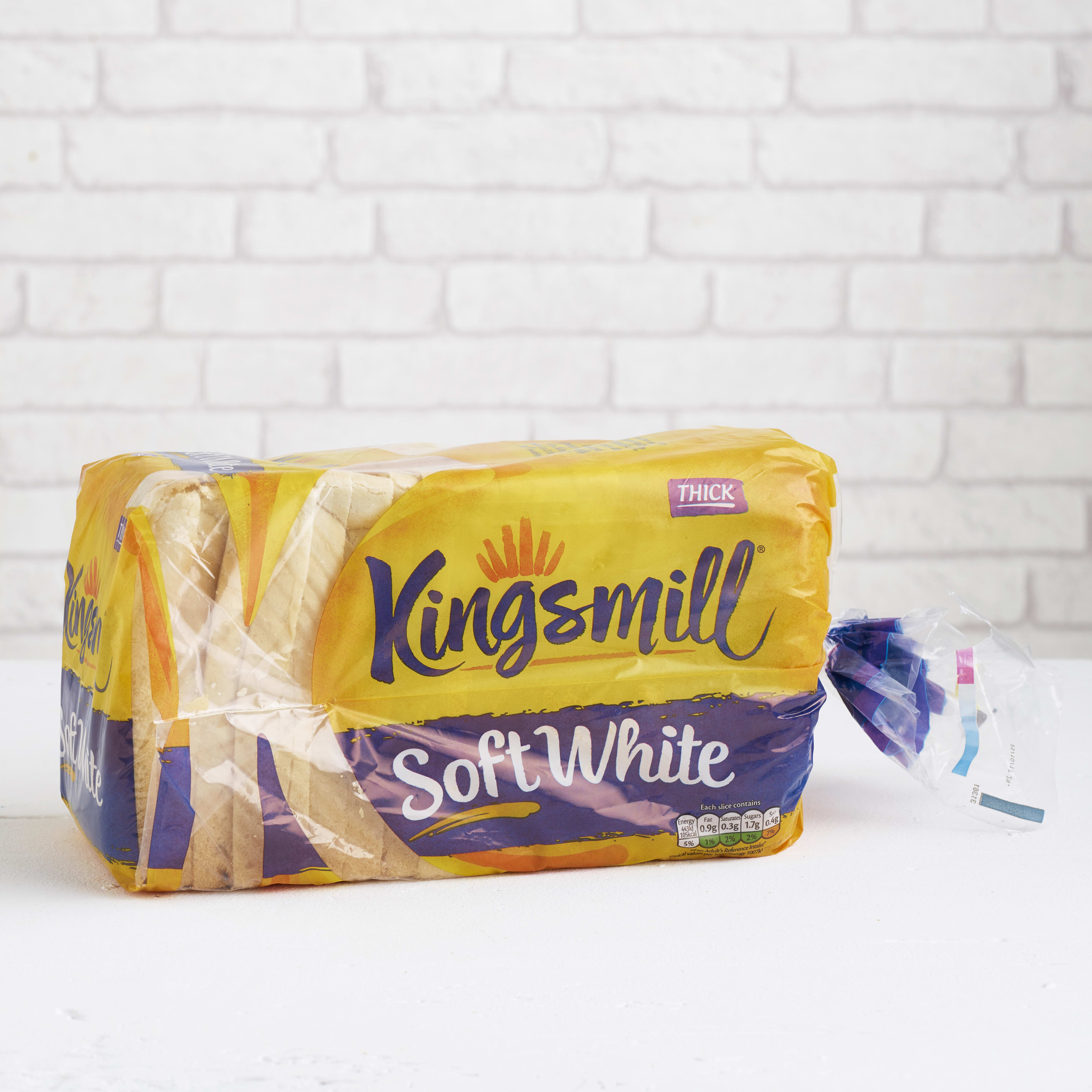 Kingsmill Soft White, Thick, 800g