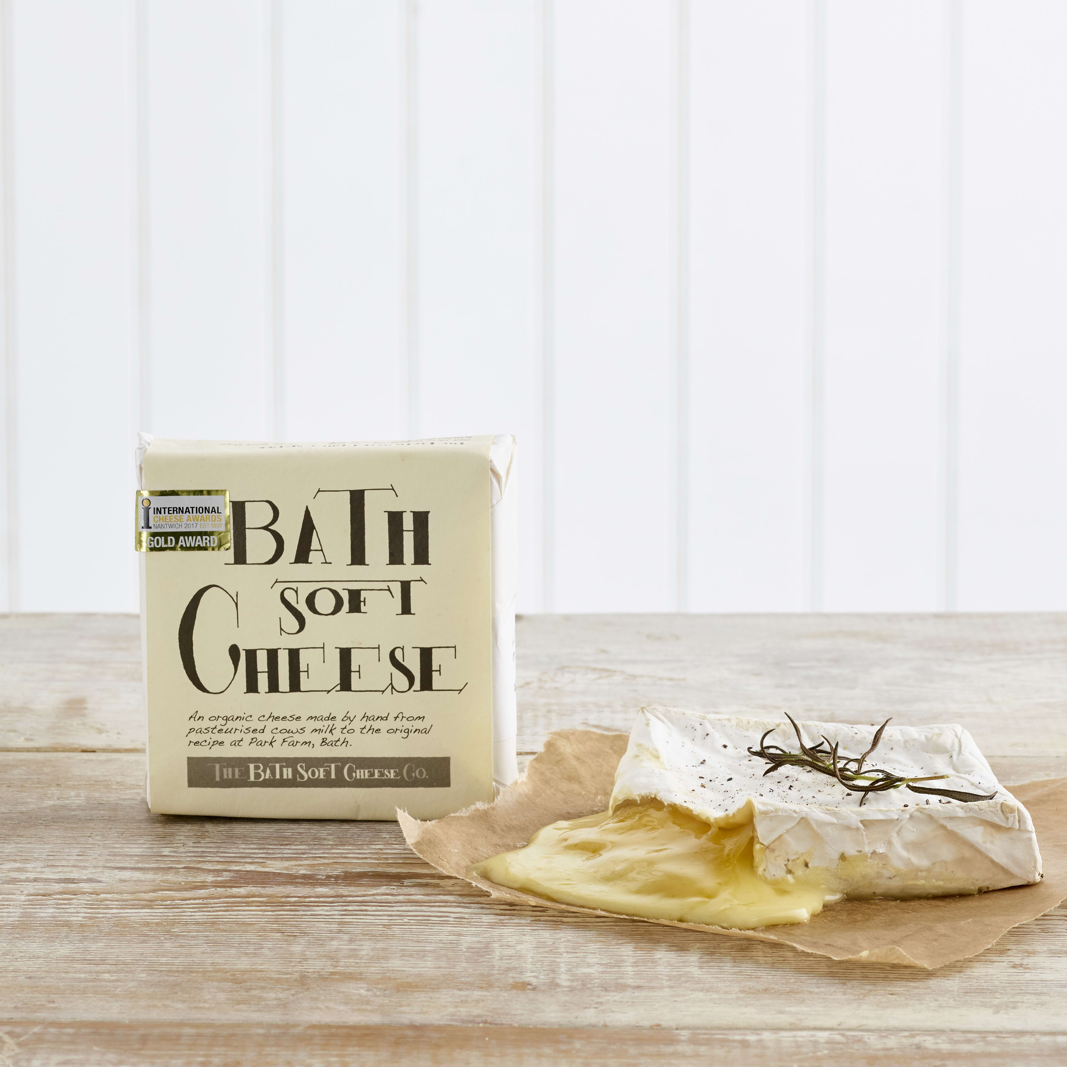 Organic Bath Soft Cheese, 250g