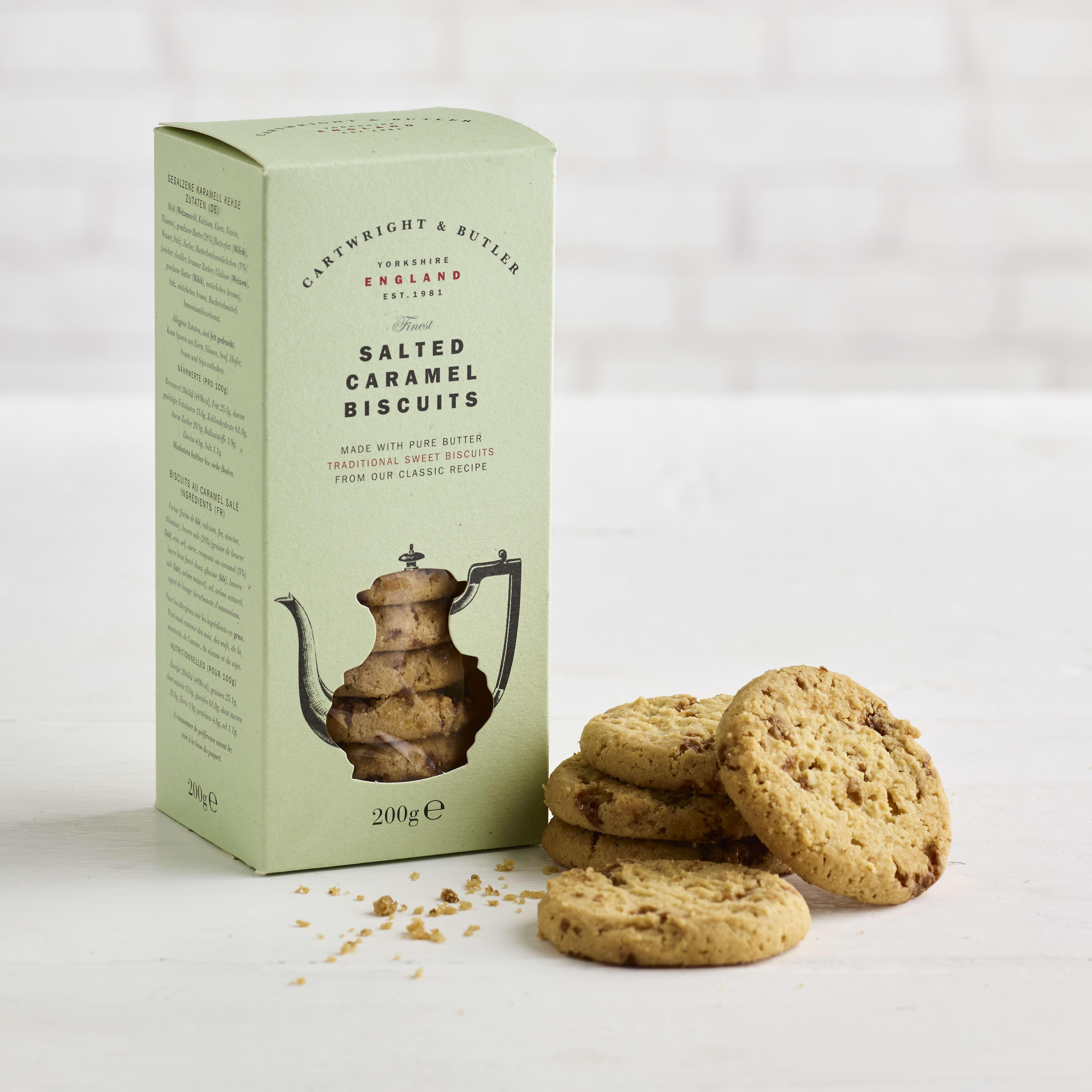 Cartwright & Butler Salted Caramel Biscuits, 200g
