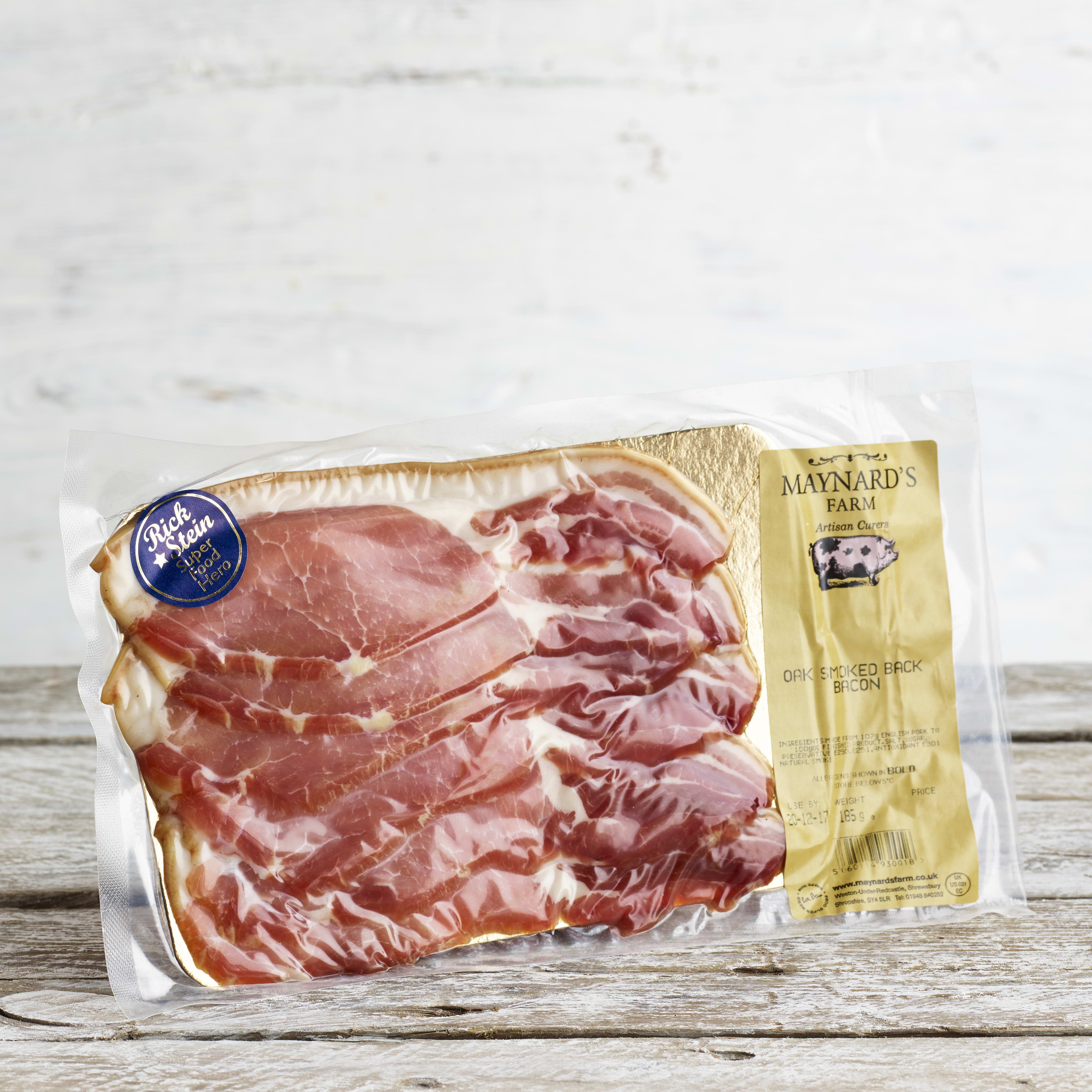 Maynard's Dry Cure Oak Smoked Bacon, 185G