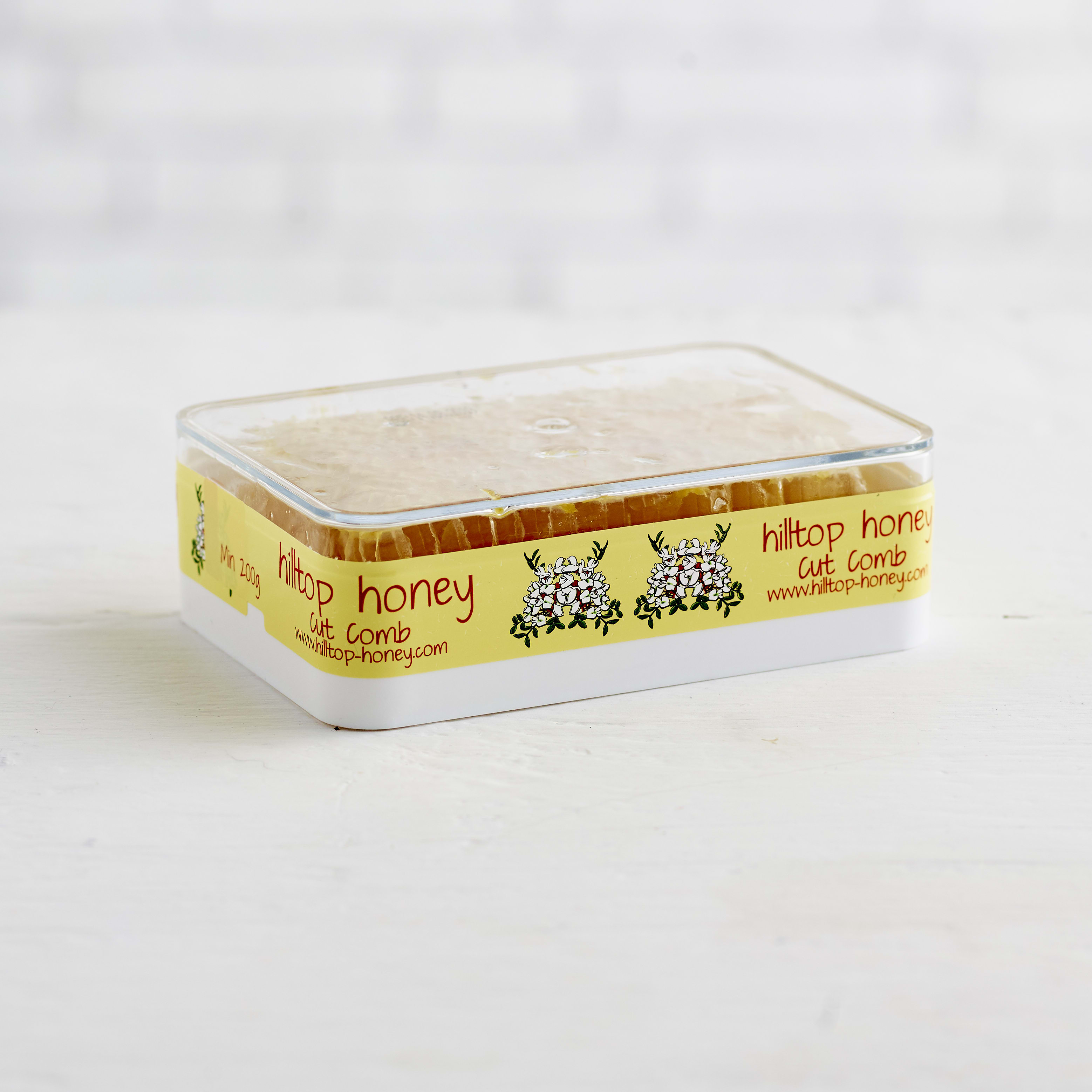 Hilltop Honey Honeycomb Slab, 200g