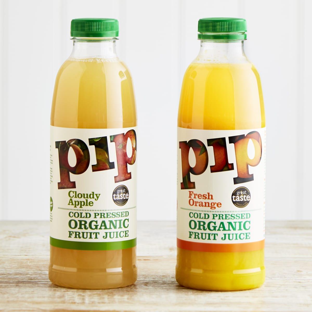 Pip Organic Fresh Orange Juice, 750ml