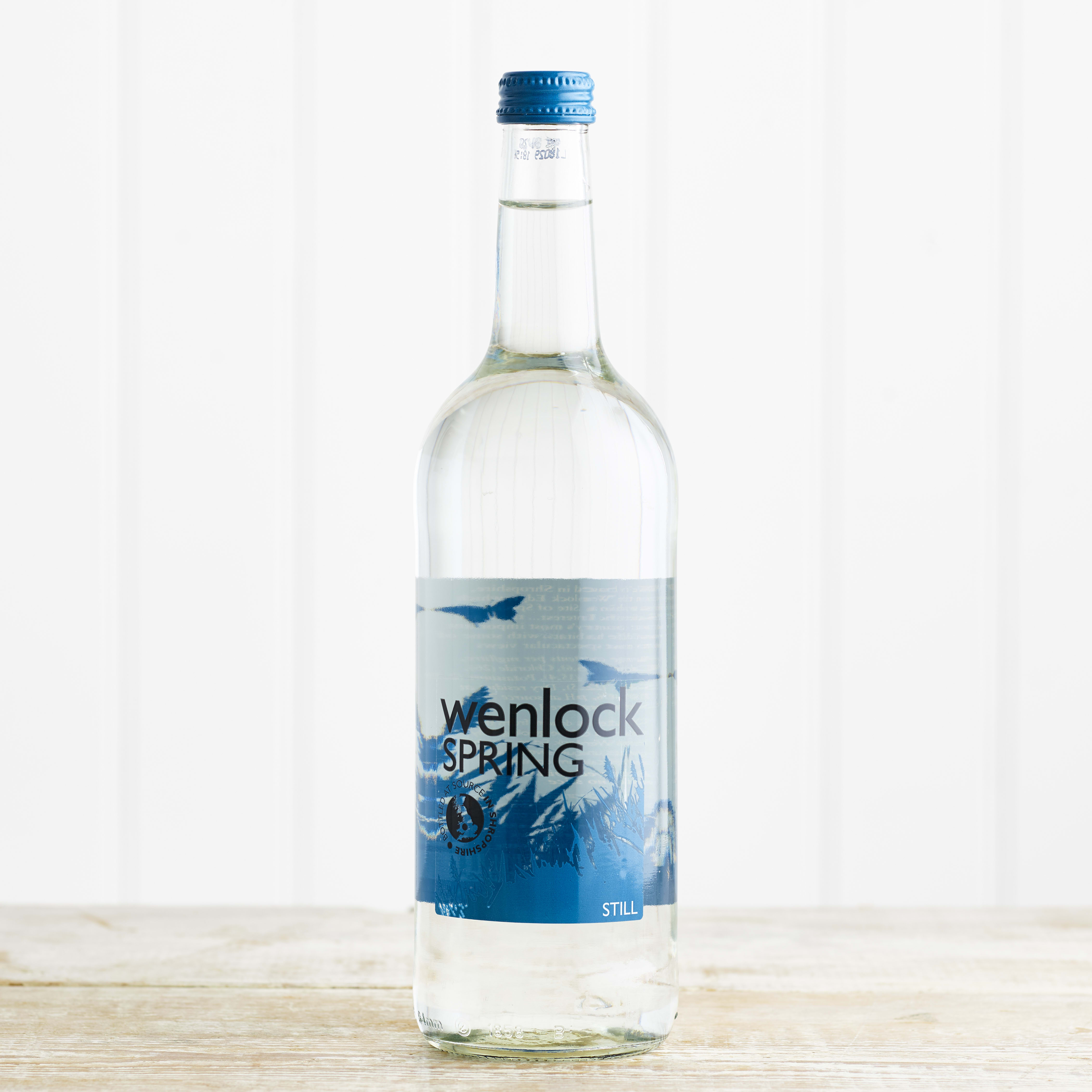 Wenlock Spring Still Spring Water, 750ml Glass