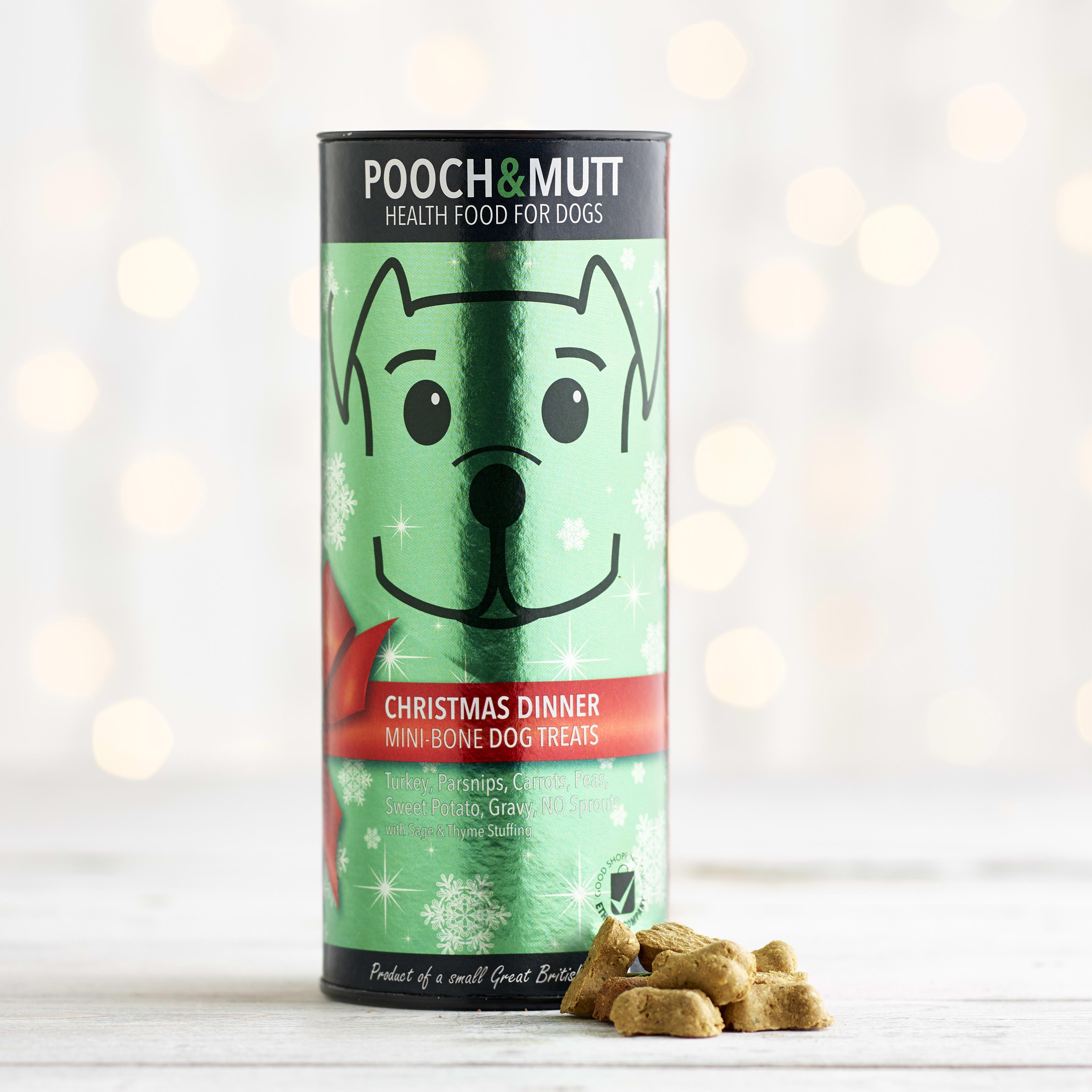 Pooch and Mutt Christmas Dinner Treats, 125g