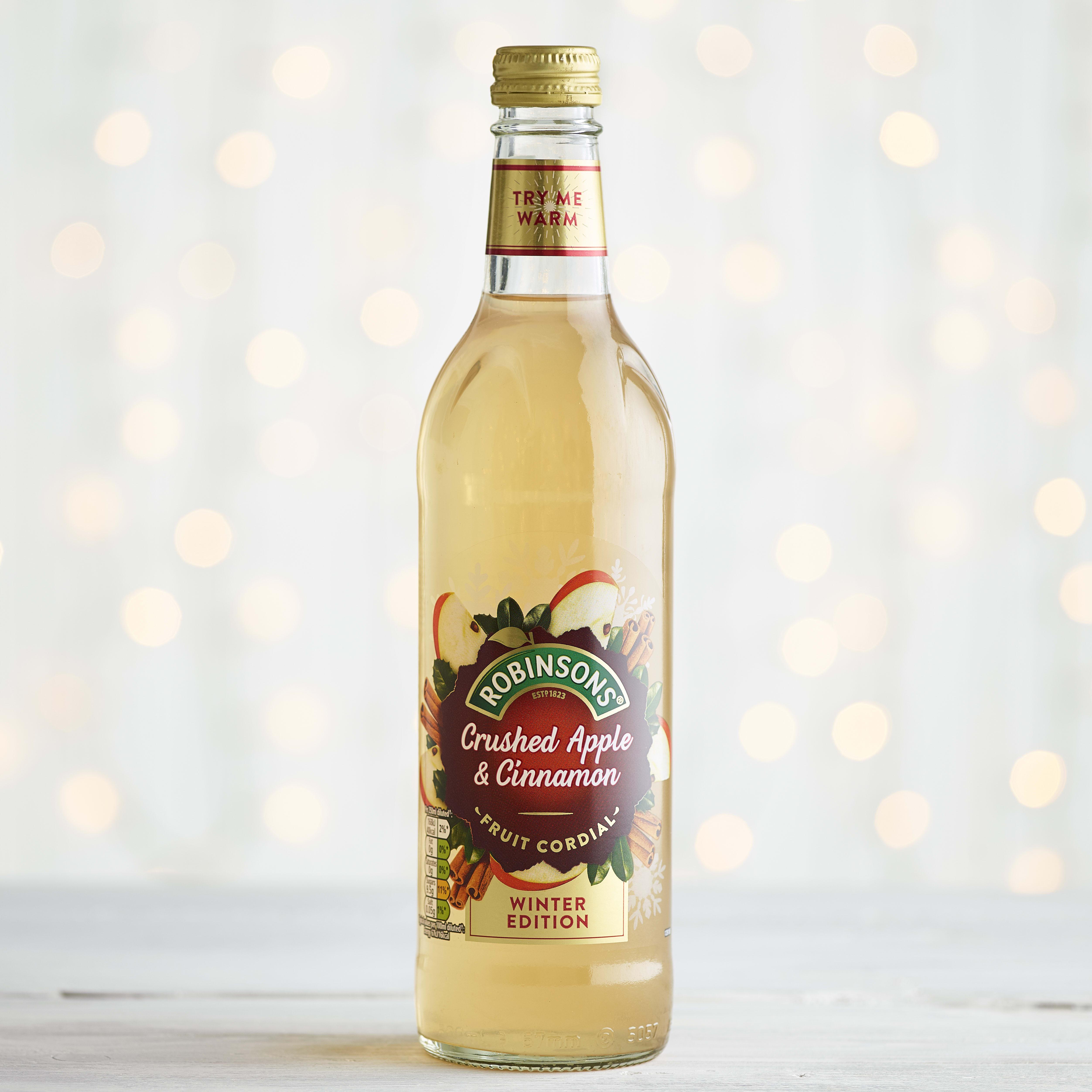 Robinsons Crushed Apple and Cinnamon Cordial, 500ml