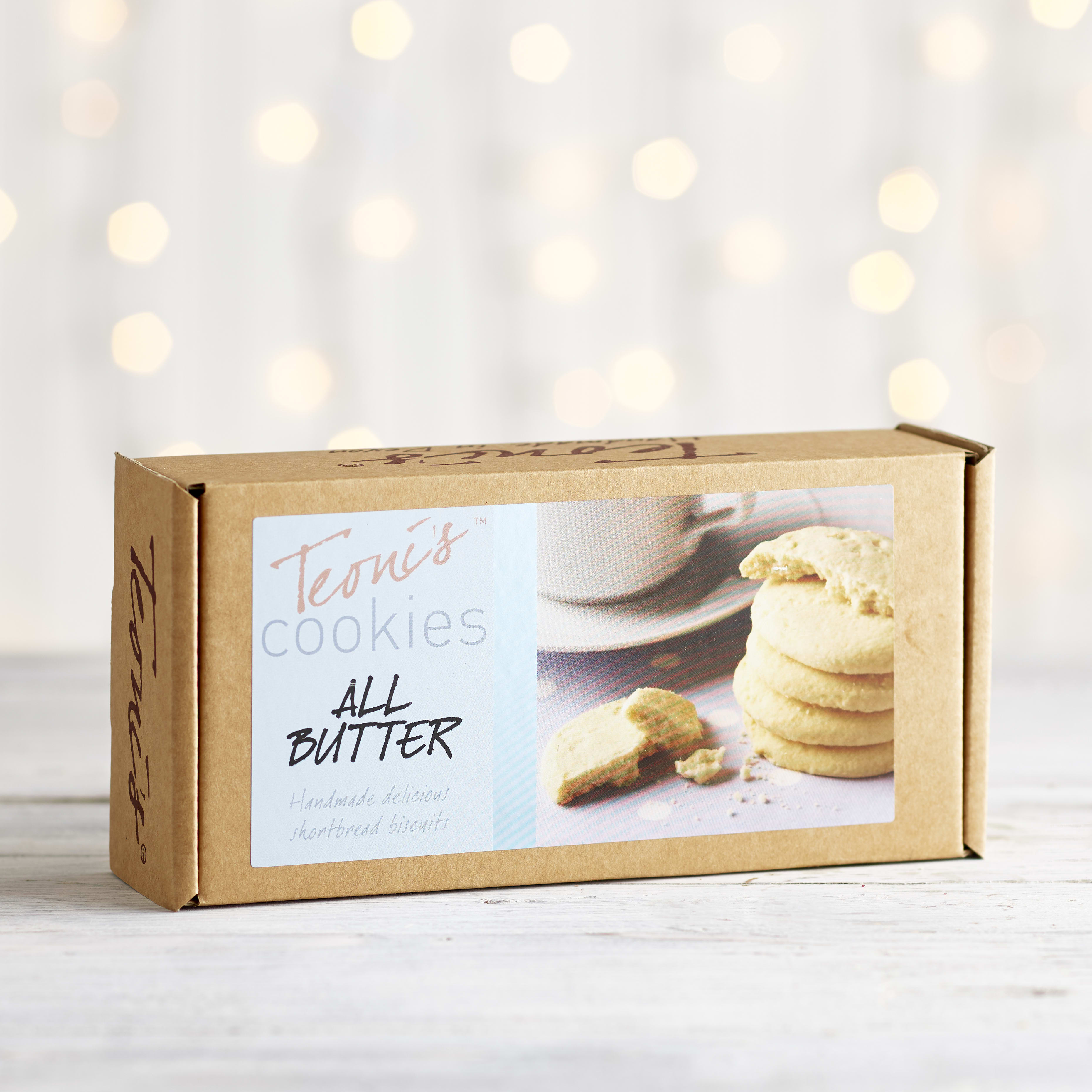 Teoni's Cookies All Butter Shortbread, 150g