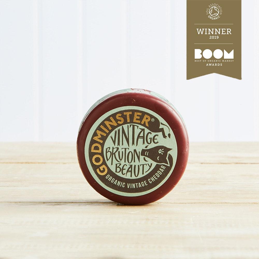 Godminster Vintage Organic Cheddar, 200g