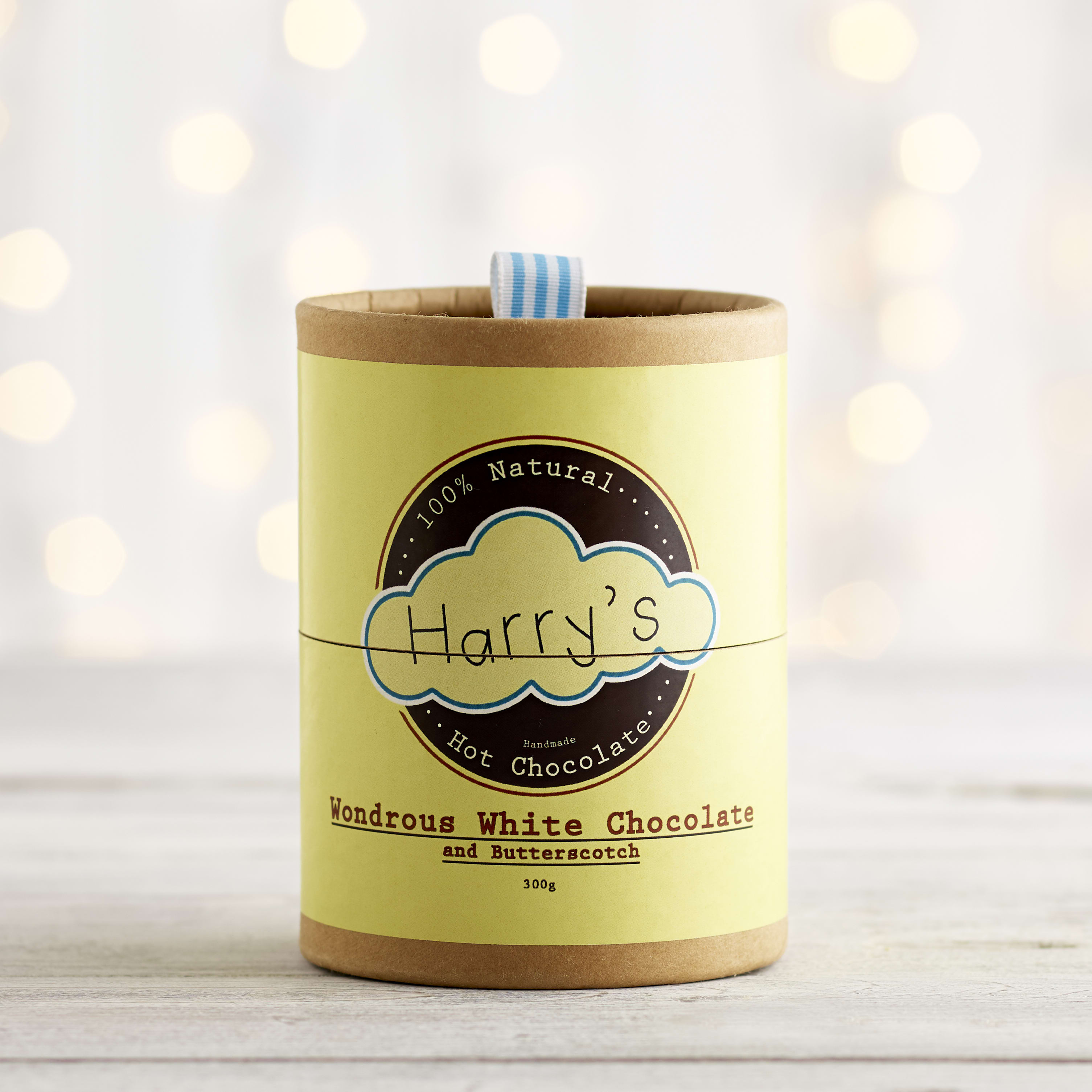 Harry's Wonderous White Chocolate & Butterscotch Hot Chocolate, 300g