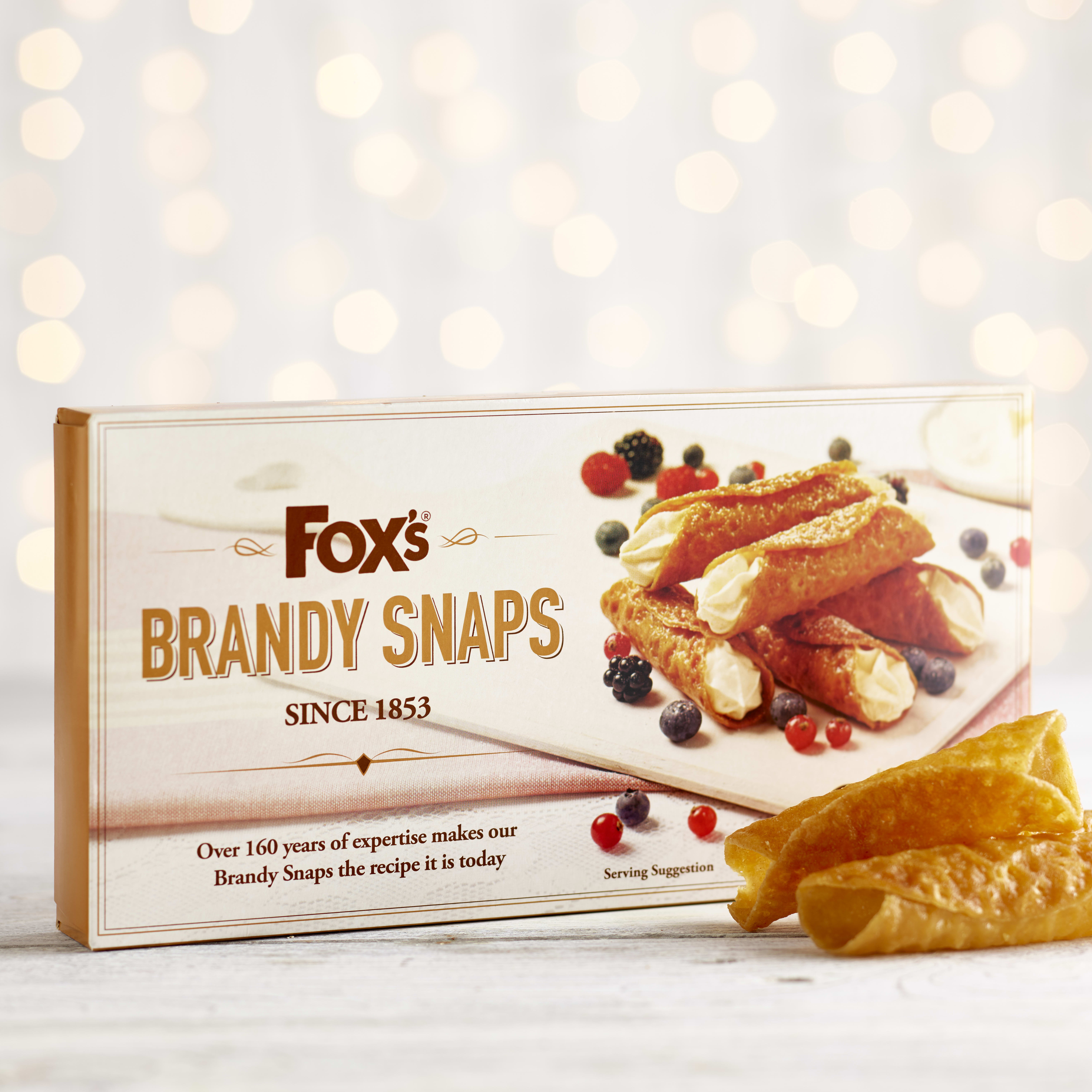Fox's Brandy Snaps, 100g