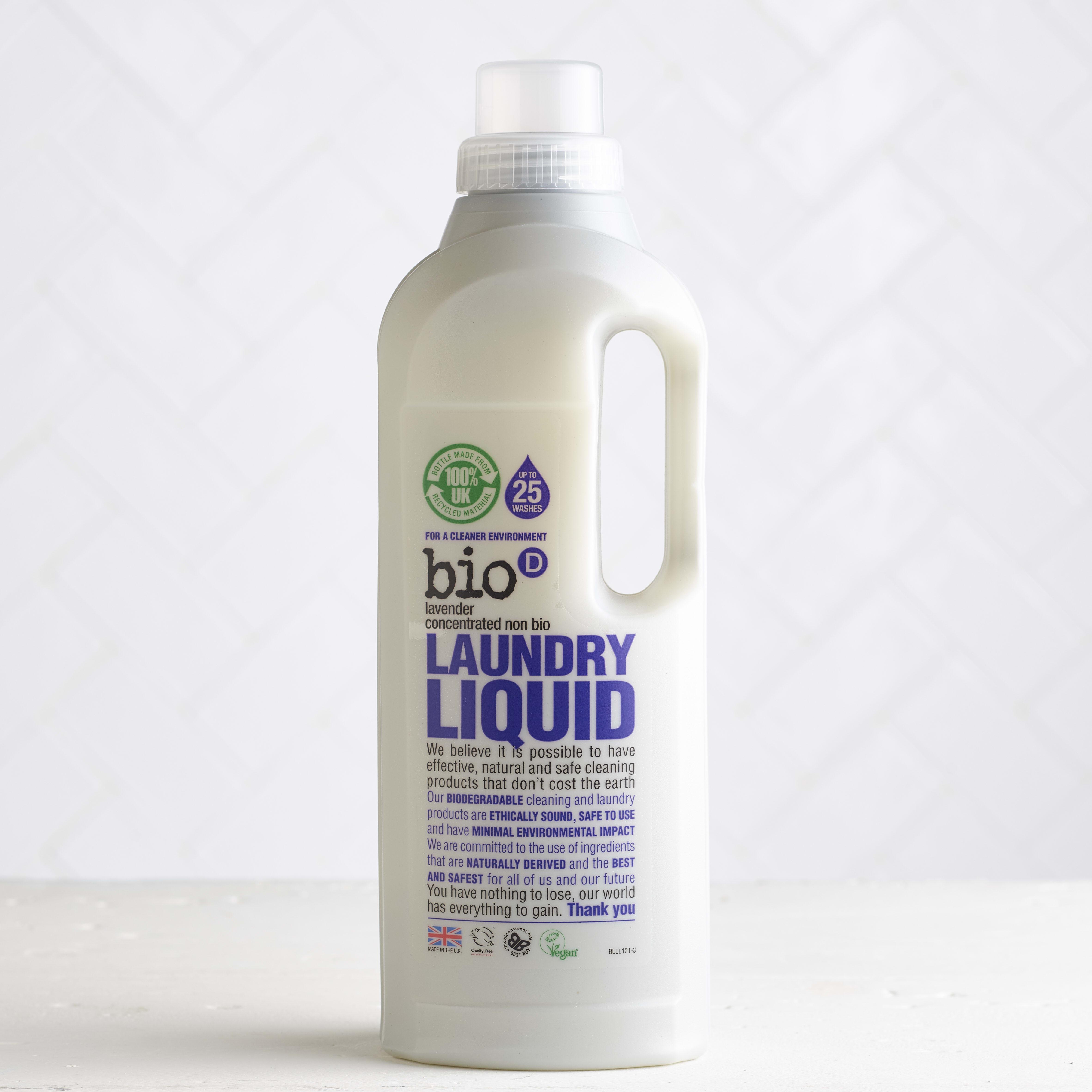 Bio-D Non-Bio Lavender Laundry Liquid, 1L