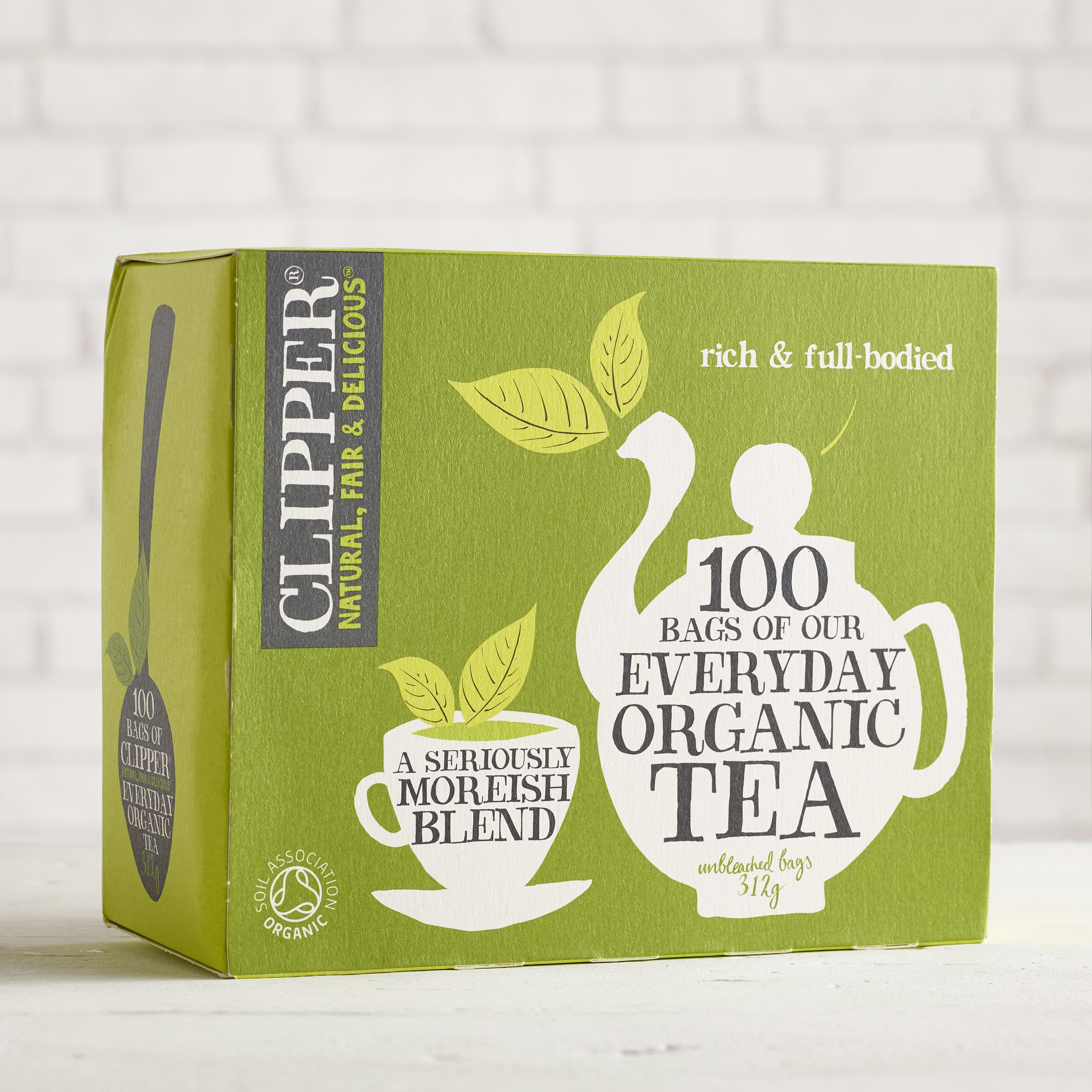 Clipper Organic Everyday Tea, 100 bags