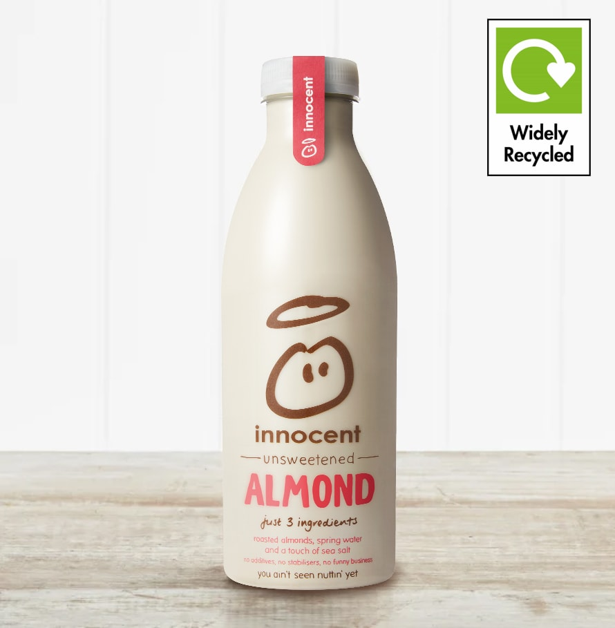Innocent Unsweetened Almond Milk, 750ml