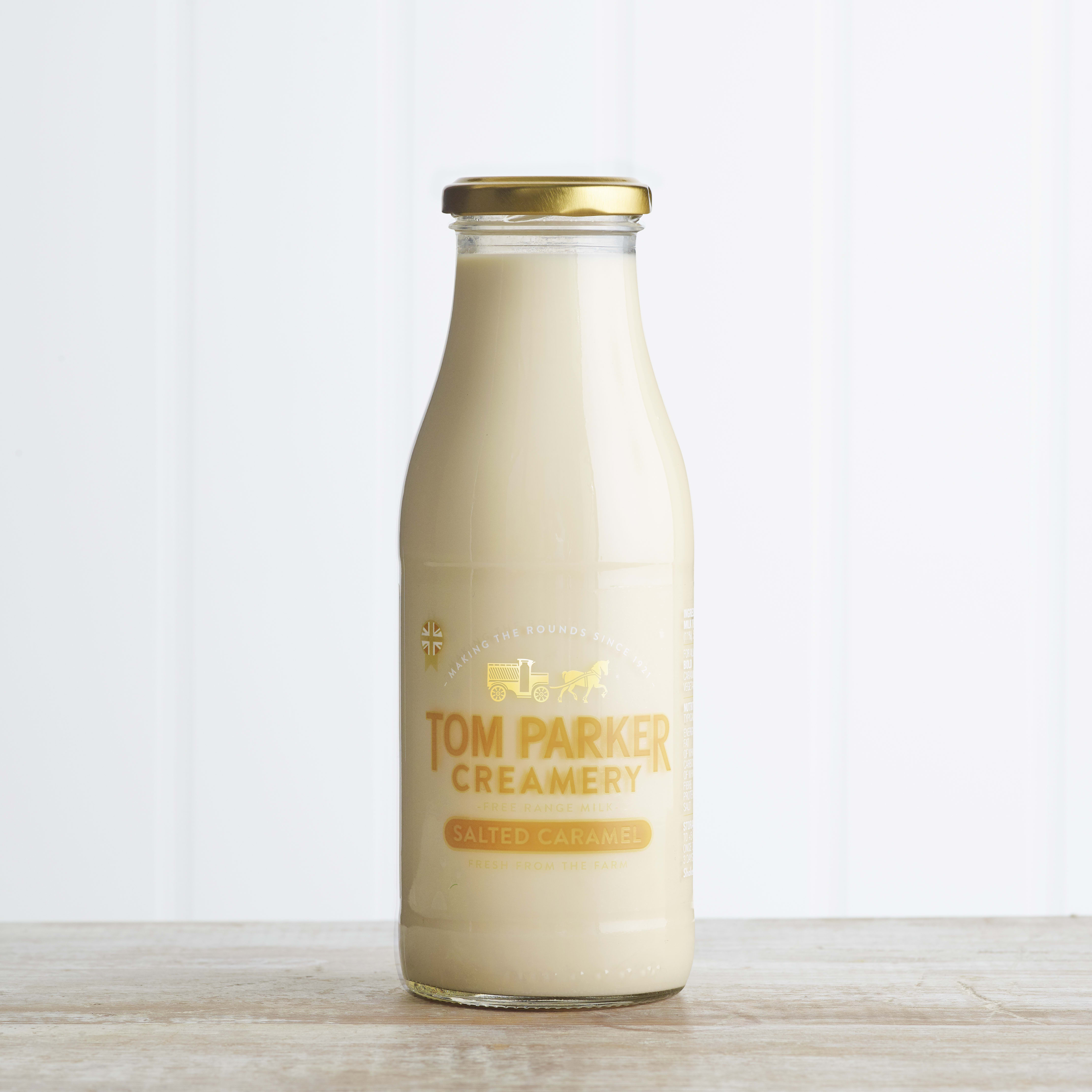 Tom Parker Salted Caramel Milk, 500ml