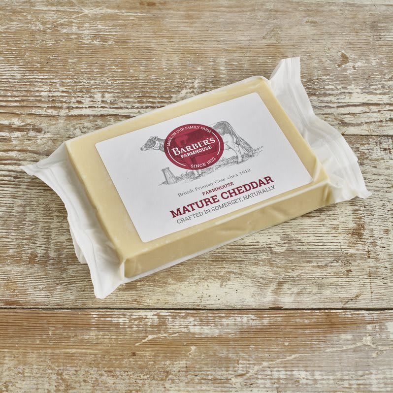 Barber's Mature Farmhouse Cheddar, 320g