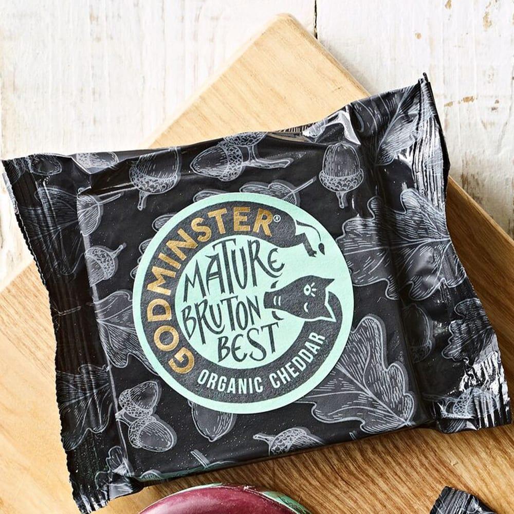 Godminster Mature Organic Cheddar, 200g