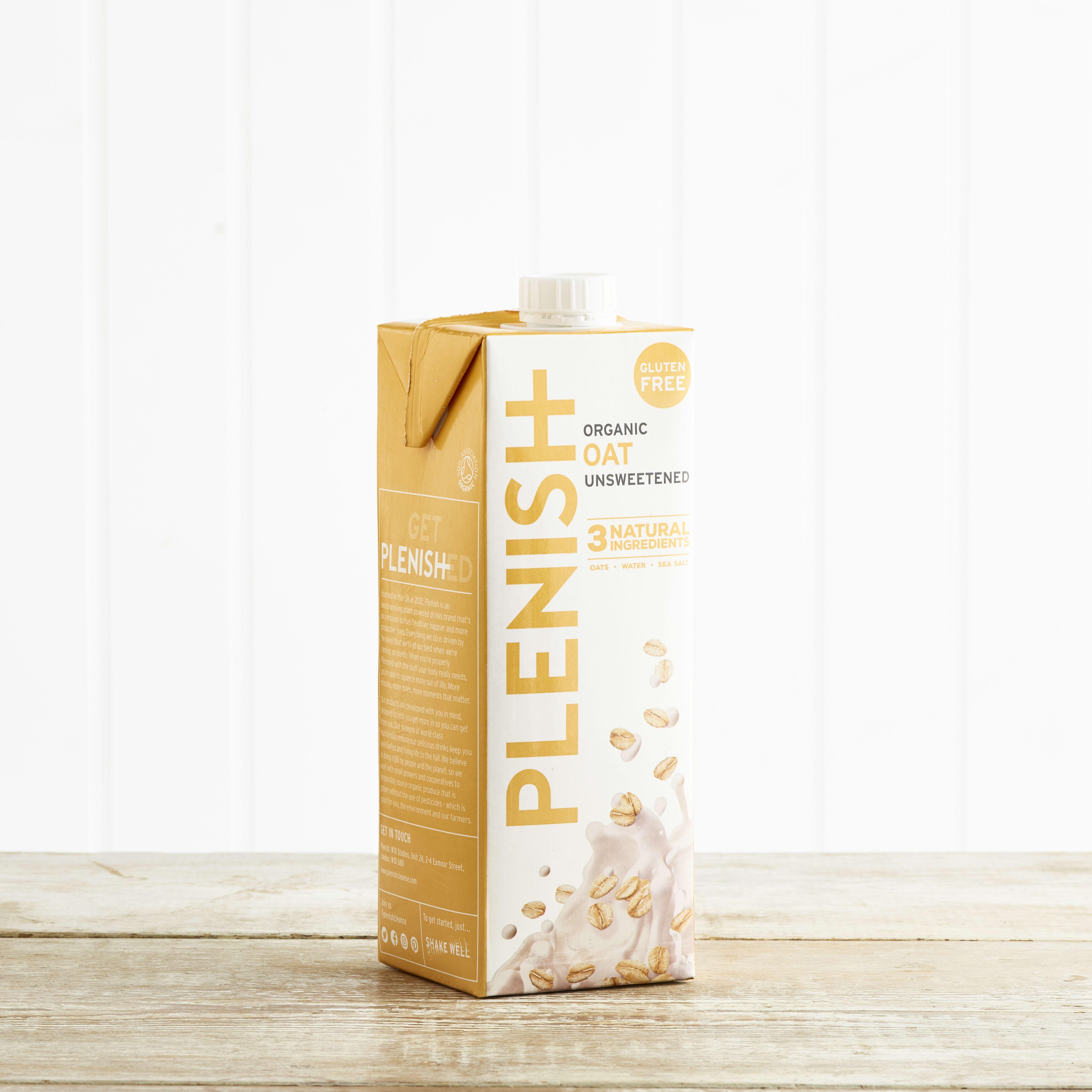 Plenish Organic Oat M*lk, 1L