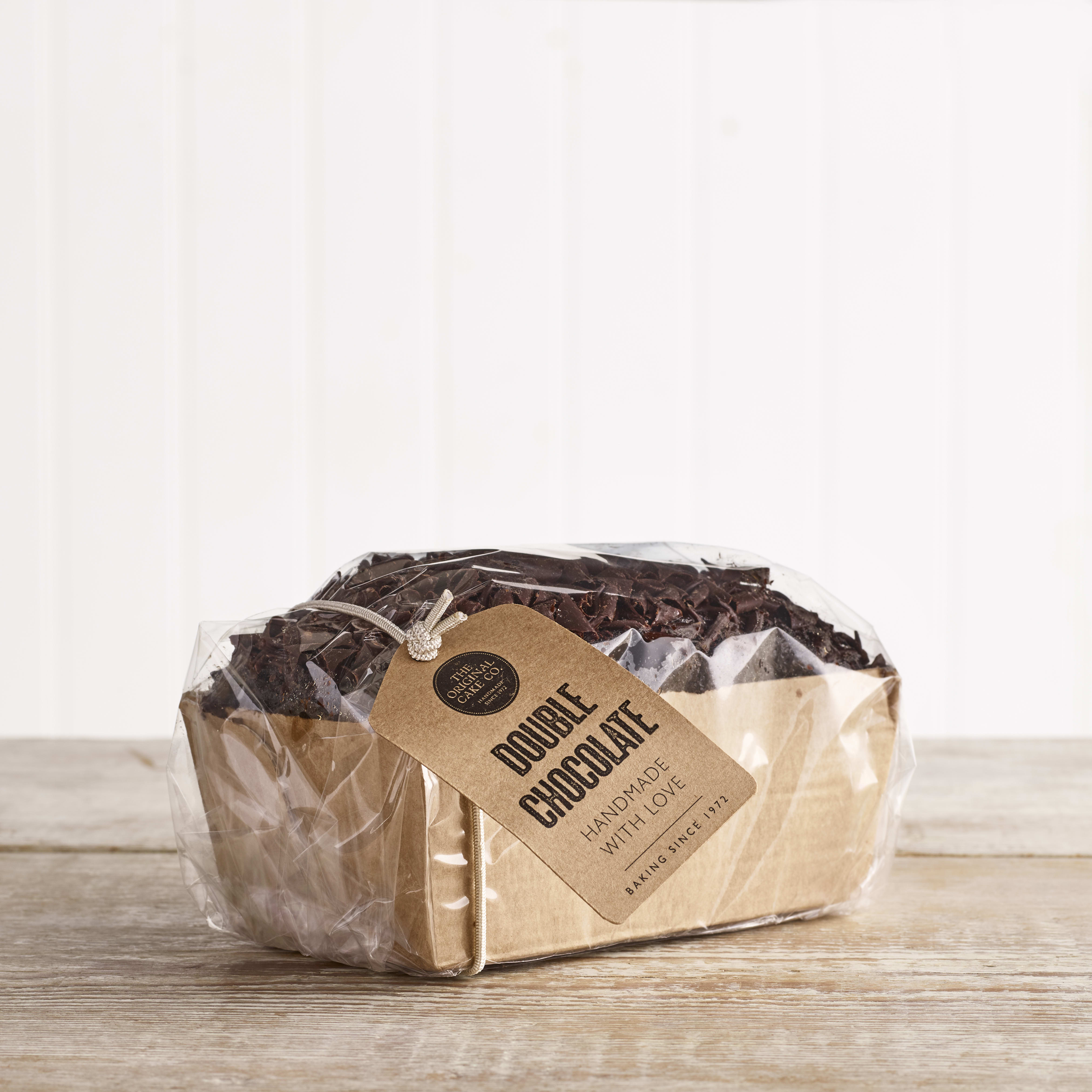 Original Cake Company Double Chocolate Sponge Loaf, 290g