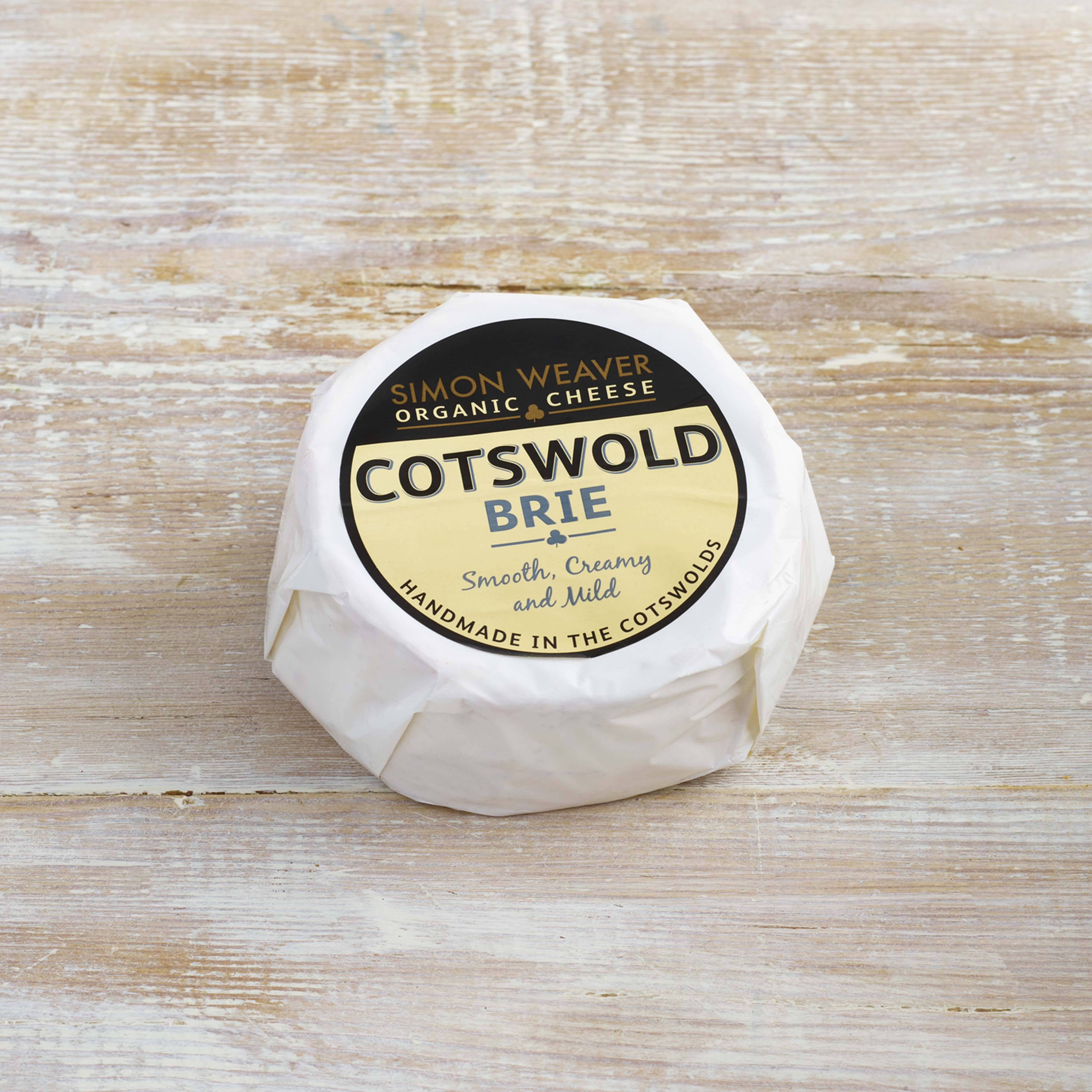 Simon Weaver Organic Cotswold Brie, 240g