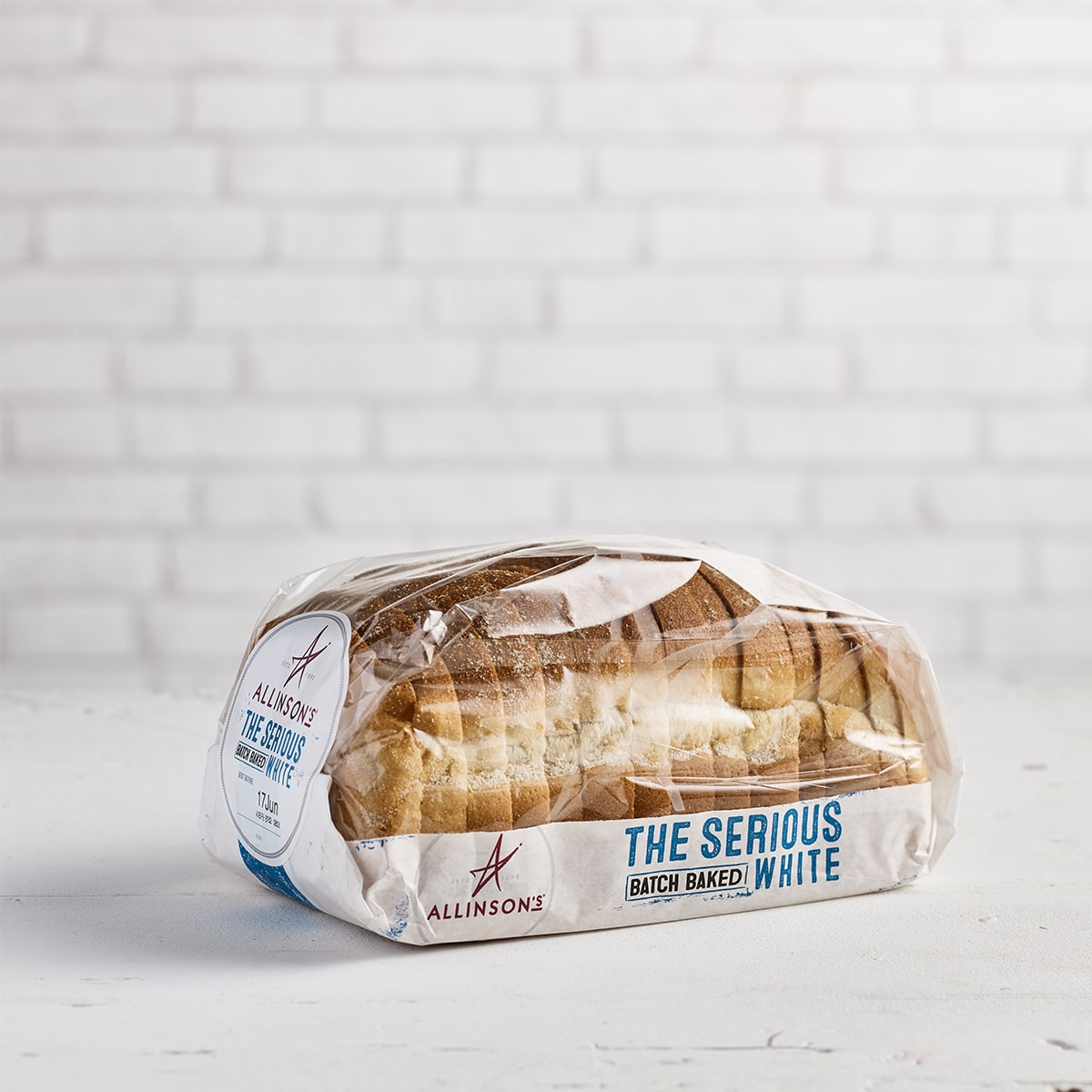 Allinson's Serious White with Sourdough, 550g