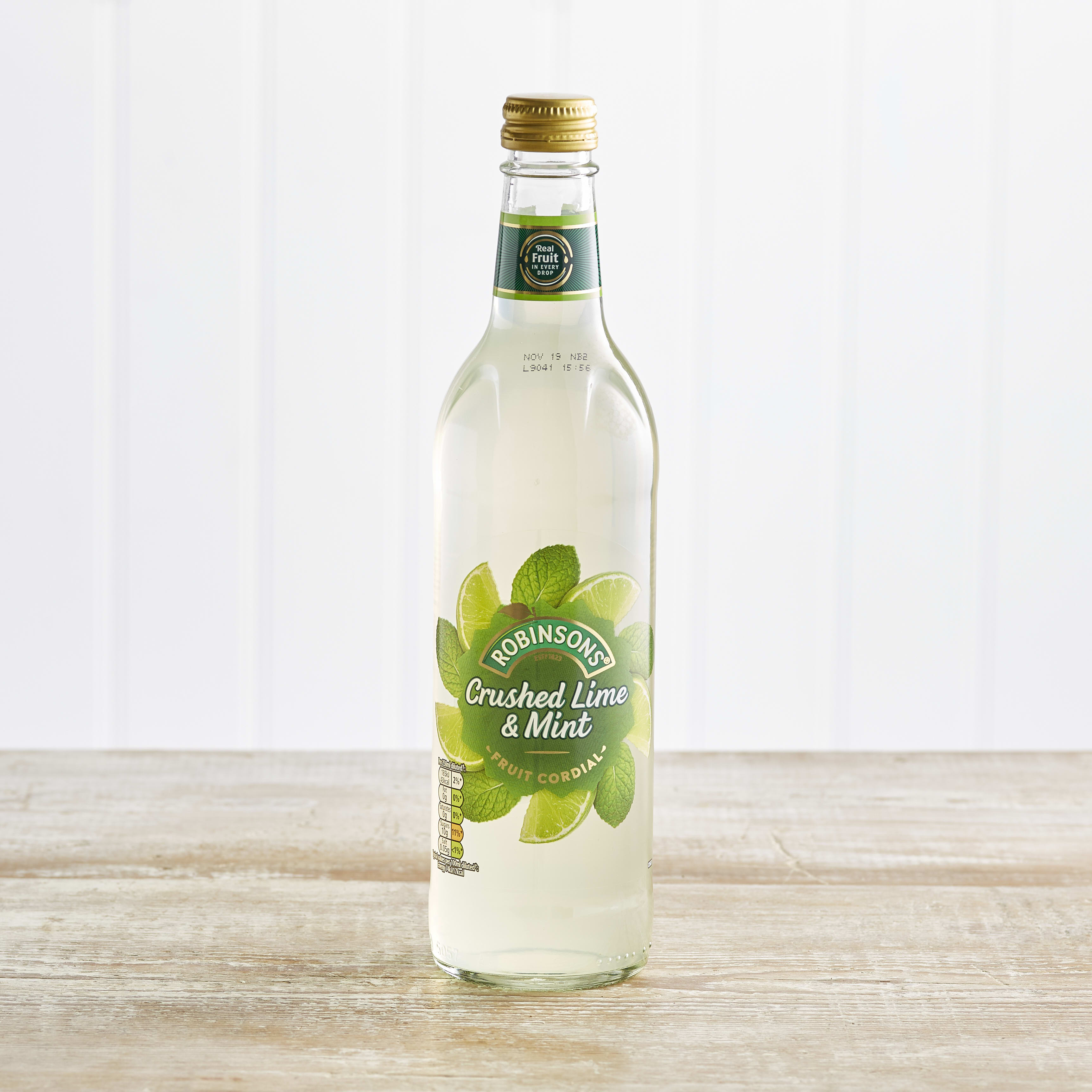 Robinsons Fruit Creations Mint & Lime Cordial, 500ml