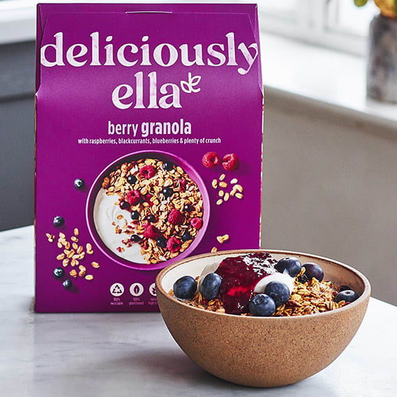 Deliciously Ella Berry Granola, 500g