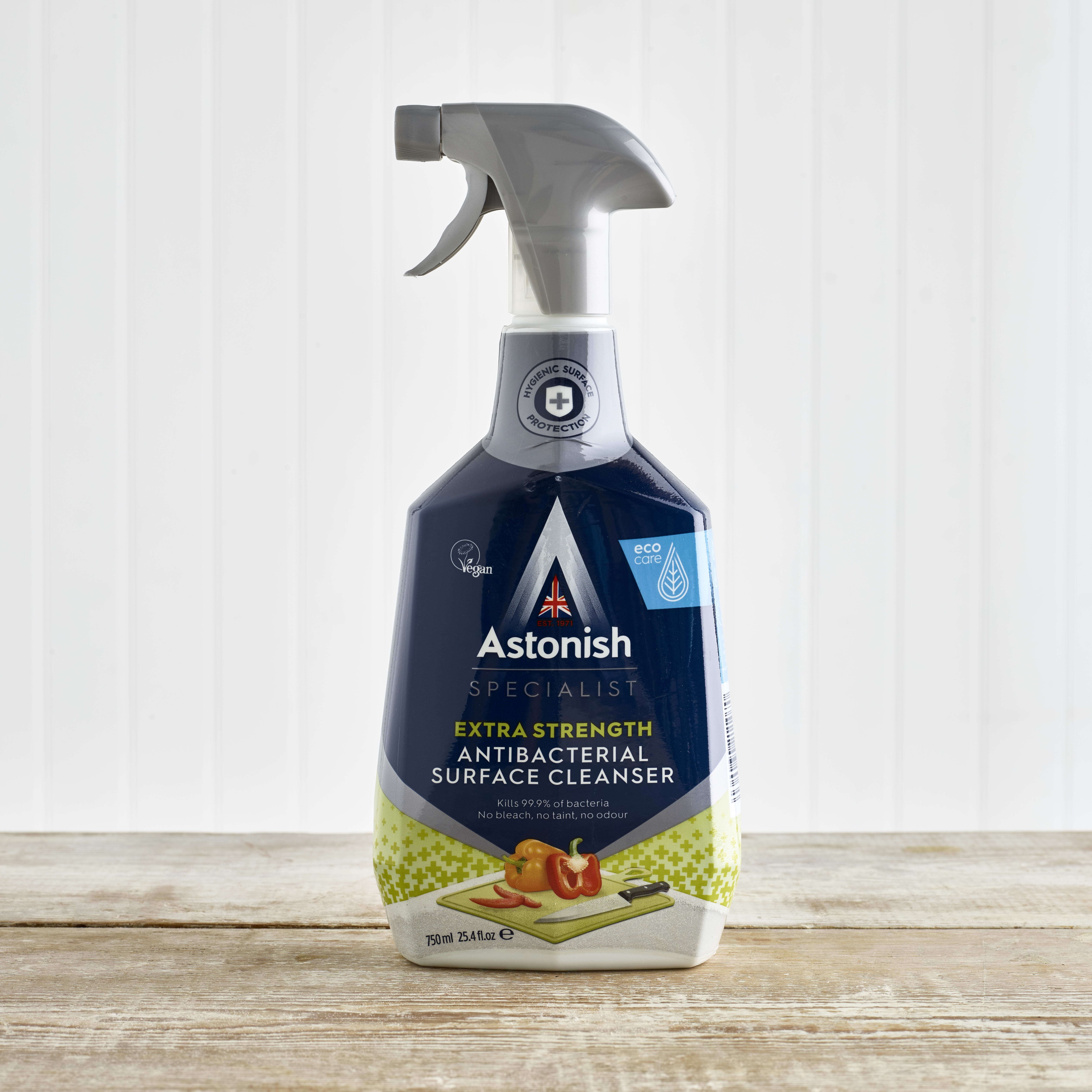 Astonish Premium Edition Anti Bacterial Surface Cleaner, 750ml