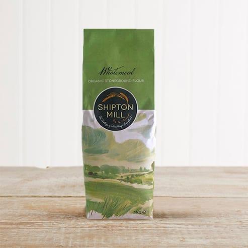 Shipton Mill Organic Stoneground Wholemeal Flour, 1kg
