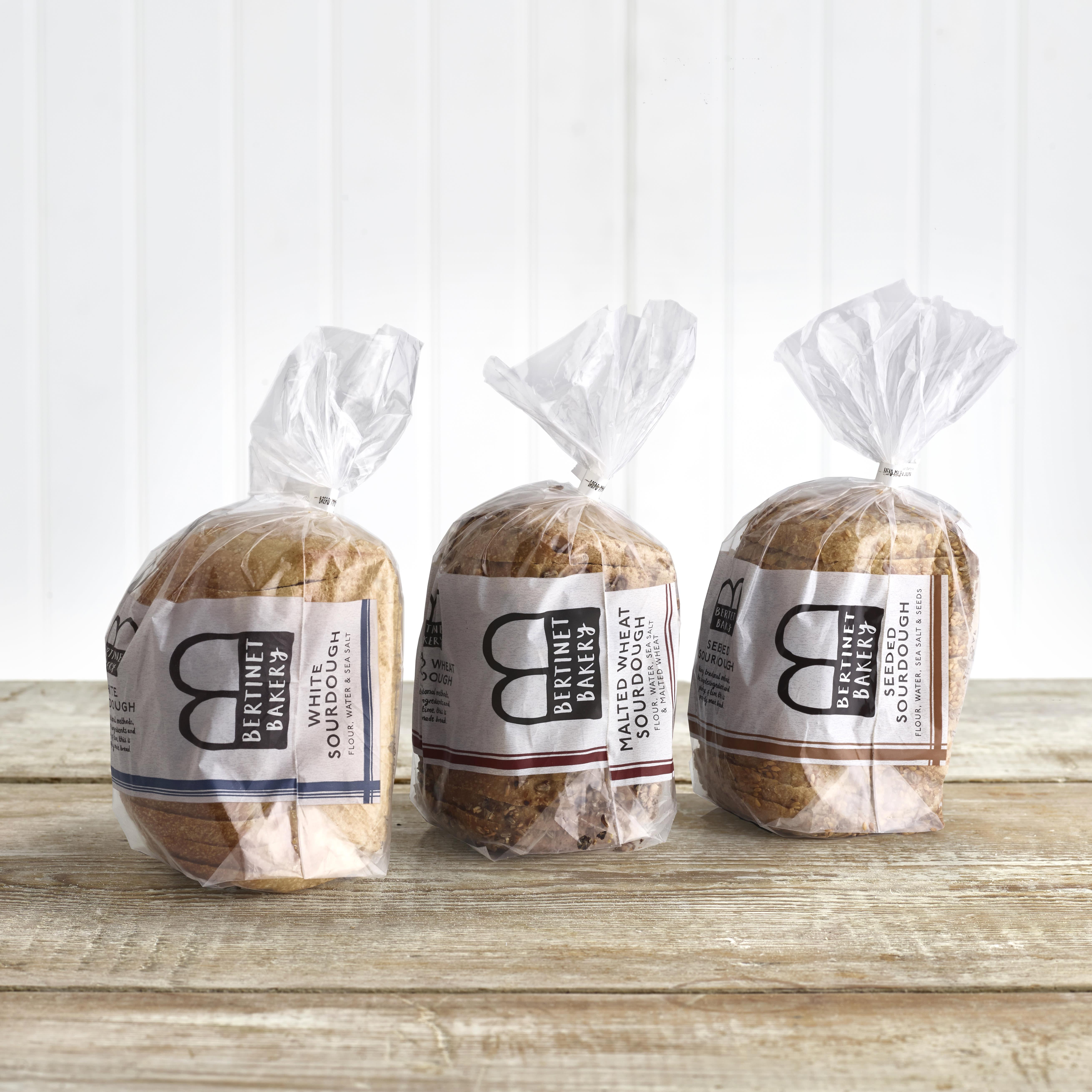 Bertinet Bakery Malted Wheat Sourdough, 500g