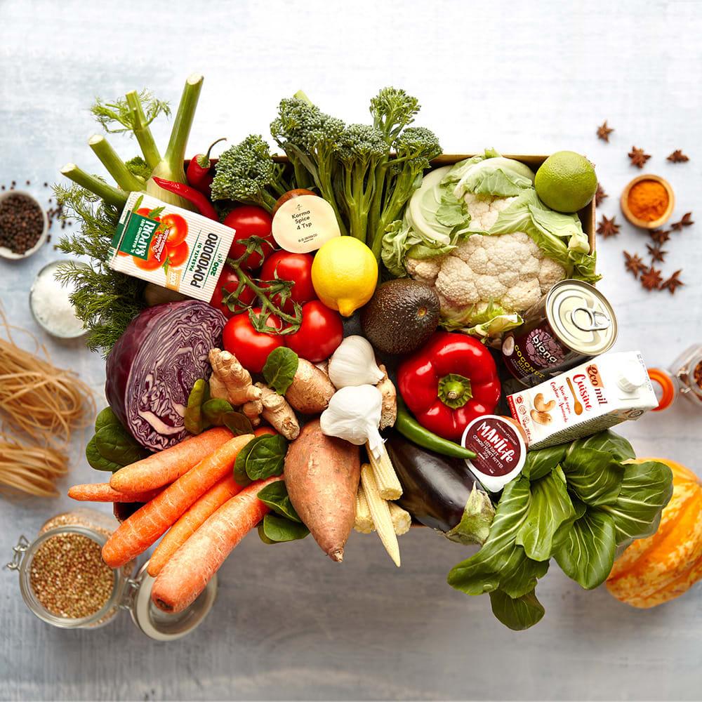 Mindful Chef Vegan Recipe Box, Serves 2