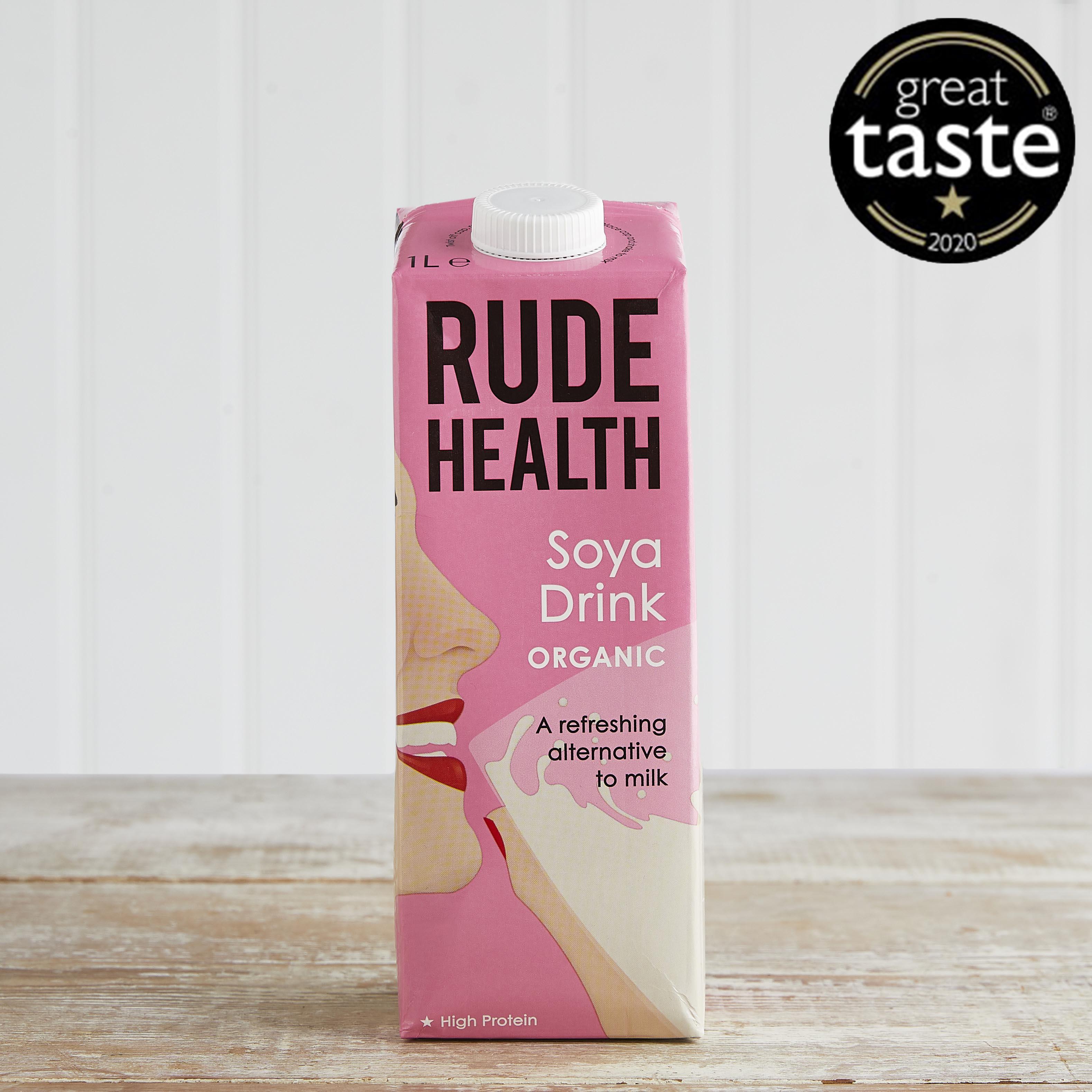 Rude Health Organic Soya Drink, 1L