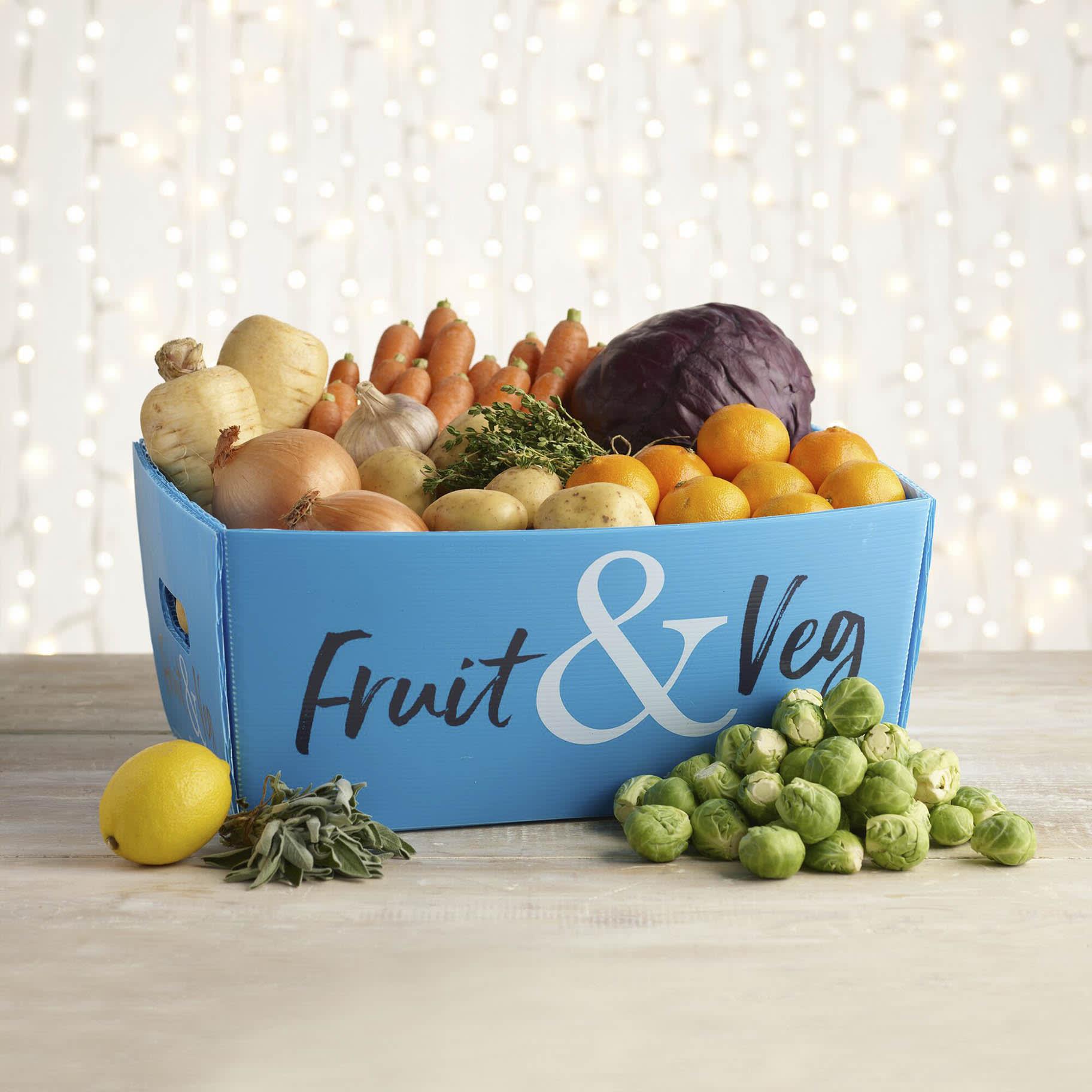Christmas Organic Fruit and Veg Box