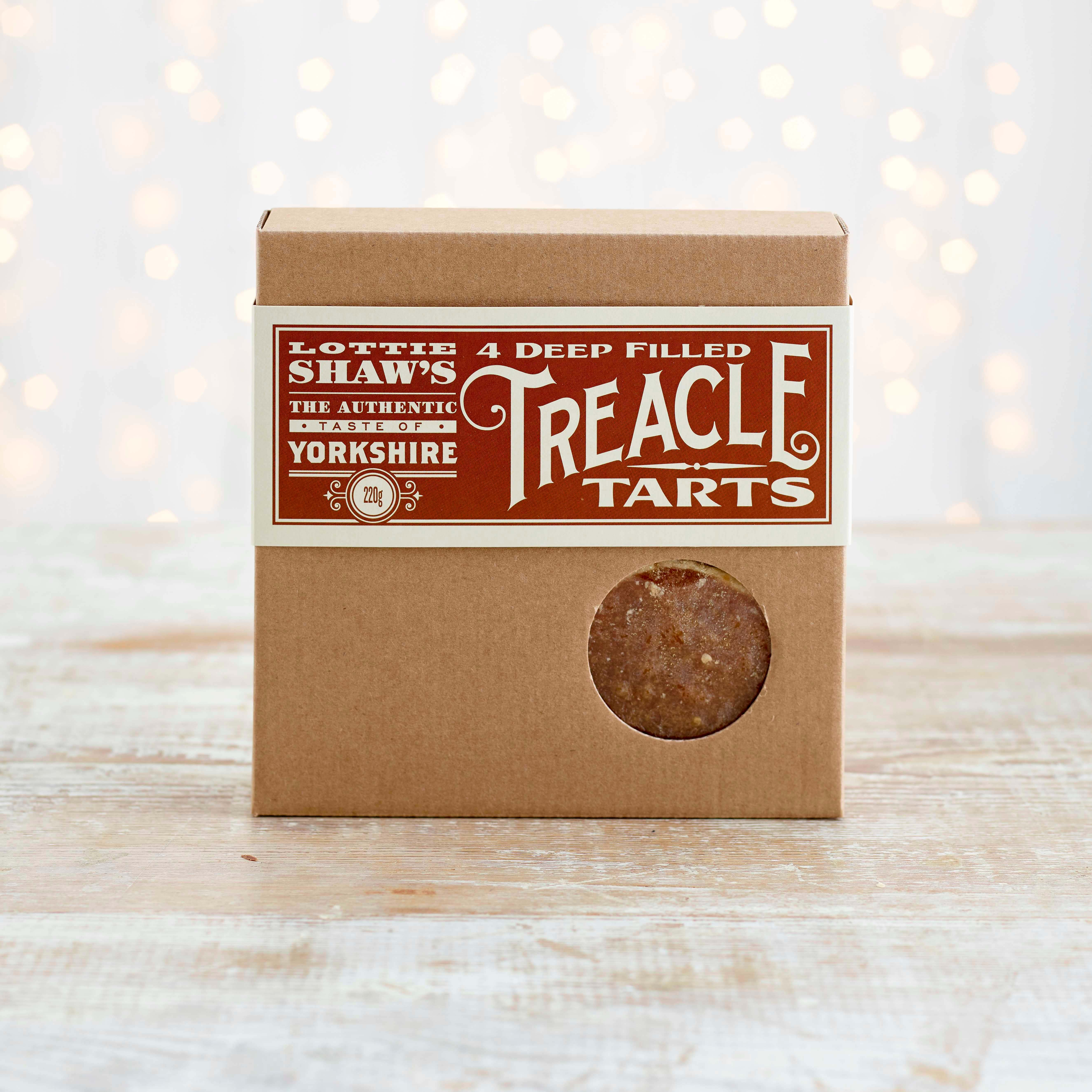 Lottie Shaw's Treacle Tarts, 4 Pack, 220g