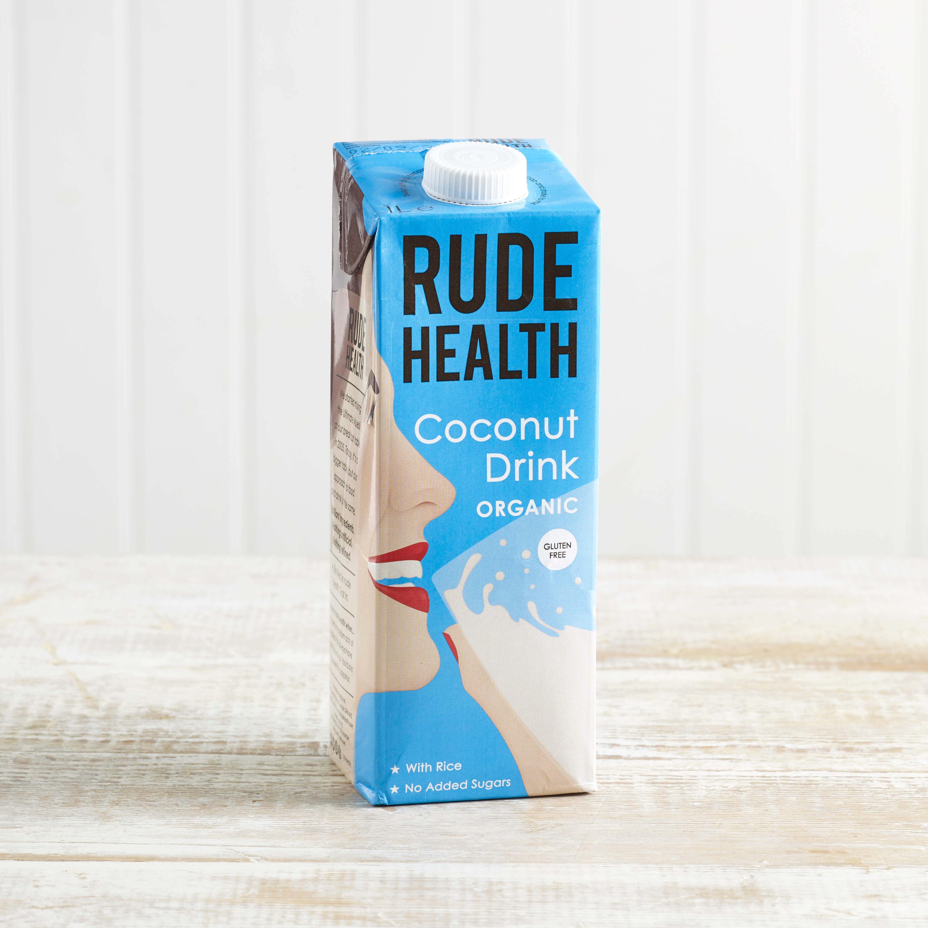 Rude Health Organic Coconut Drink, 1L