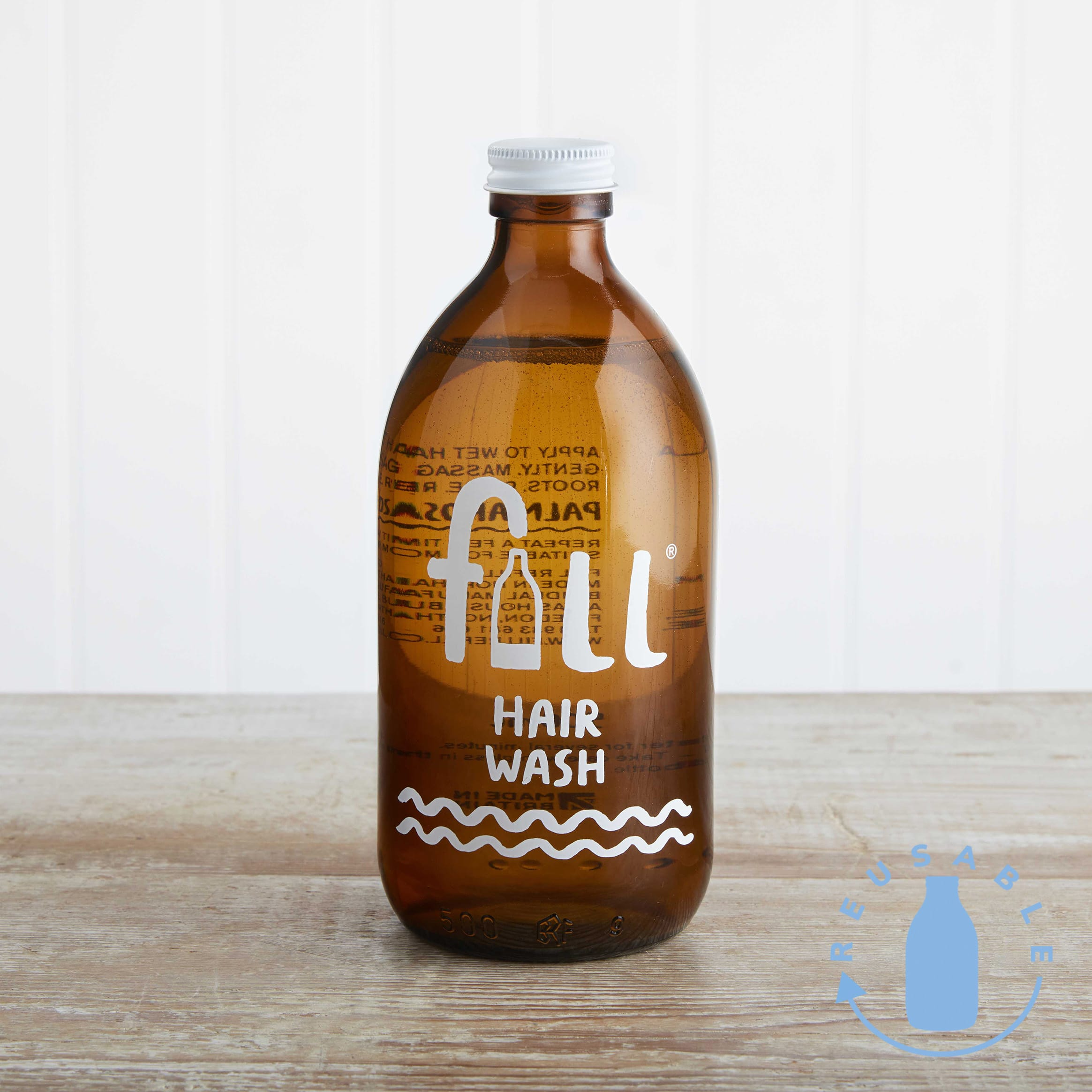 Fill Hair Wash in Glass, 500ml