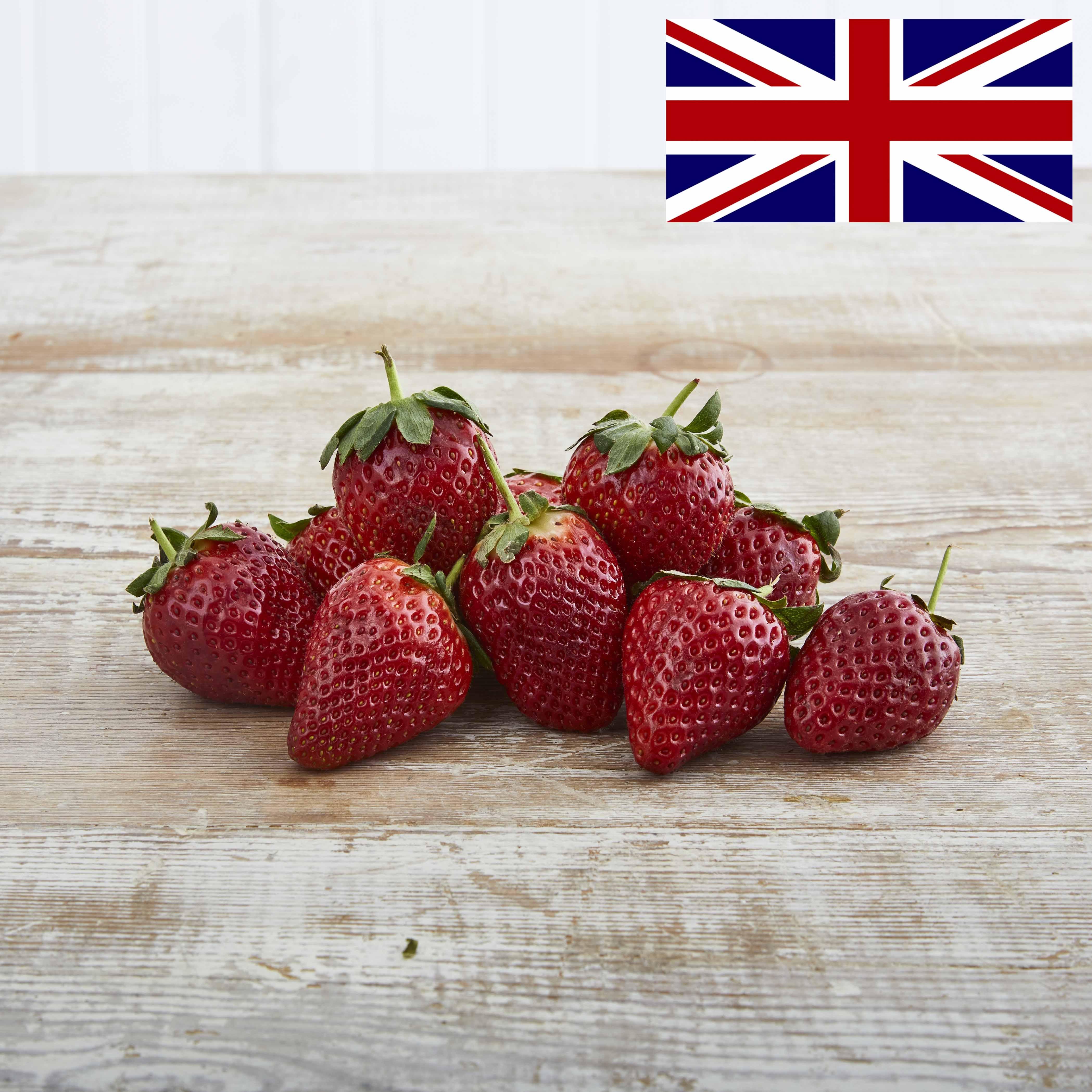 Organic Strawberries, 300g