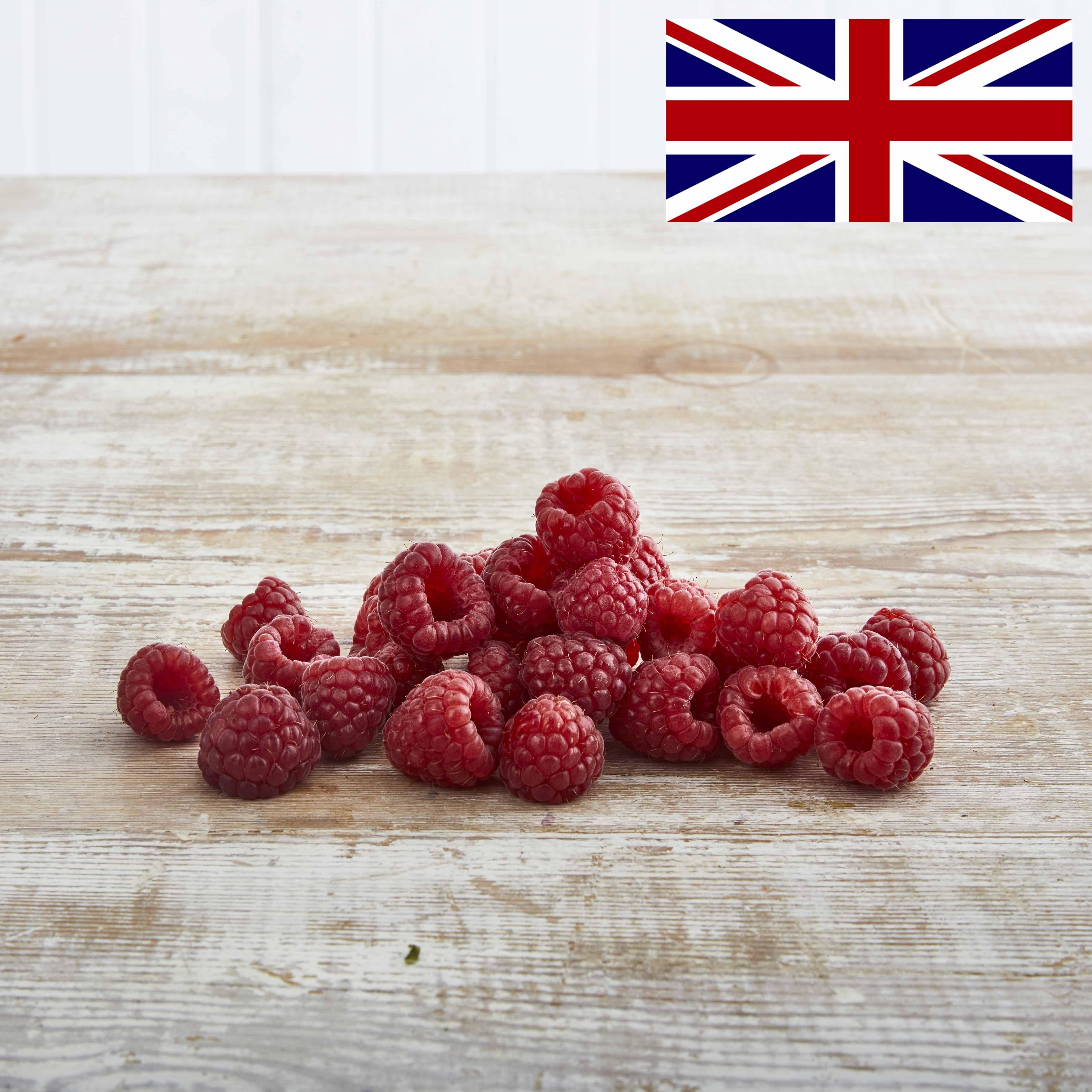 Organic Raspberries, 125g