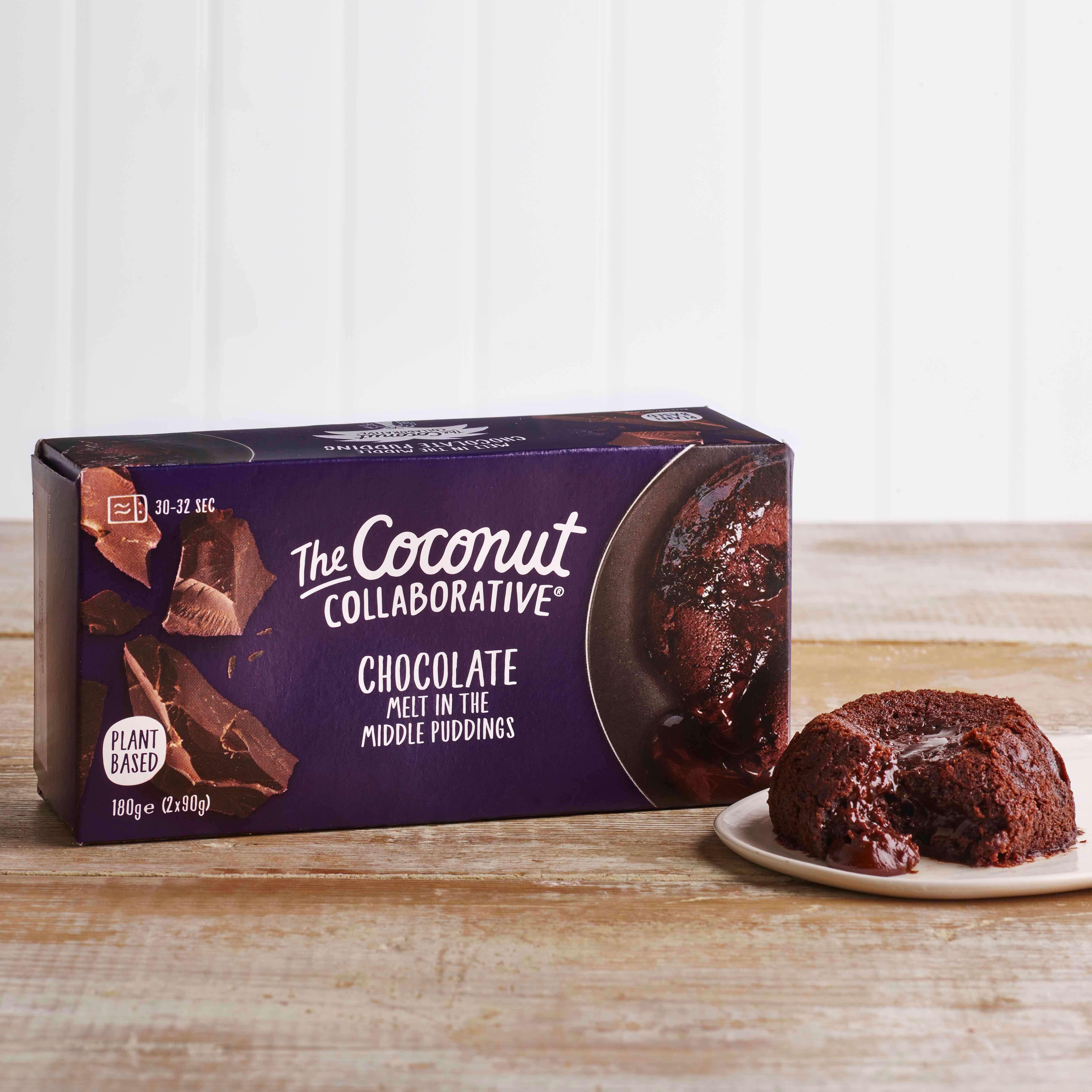 The Coconut Collaborative Chocolate Melt in the Middle Pudding, 2 x 90g