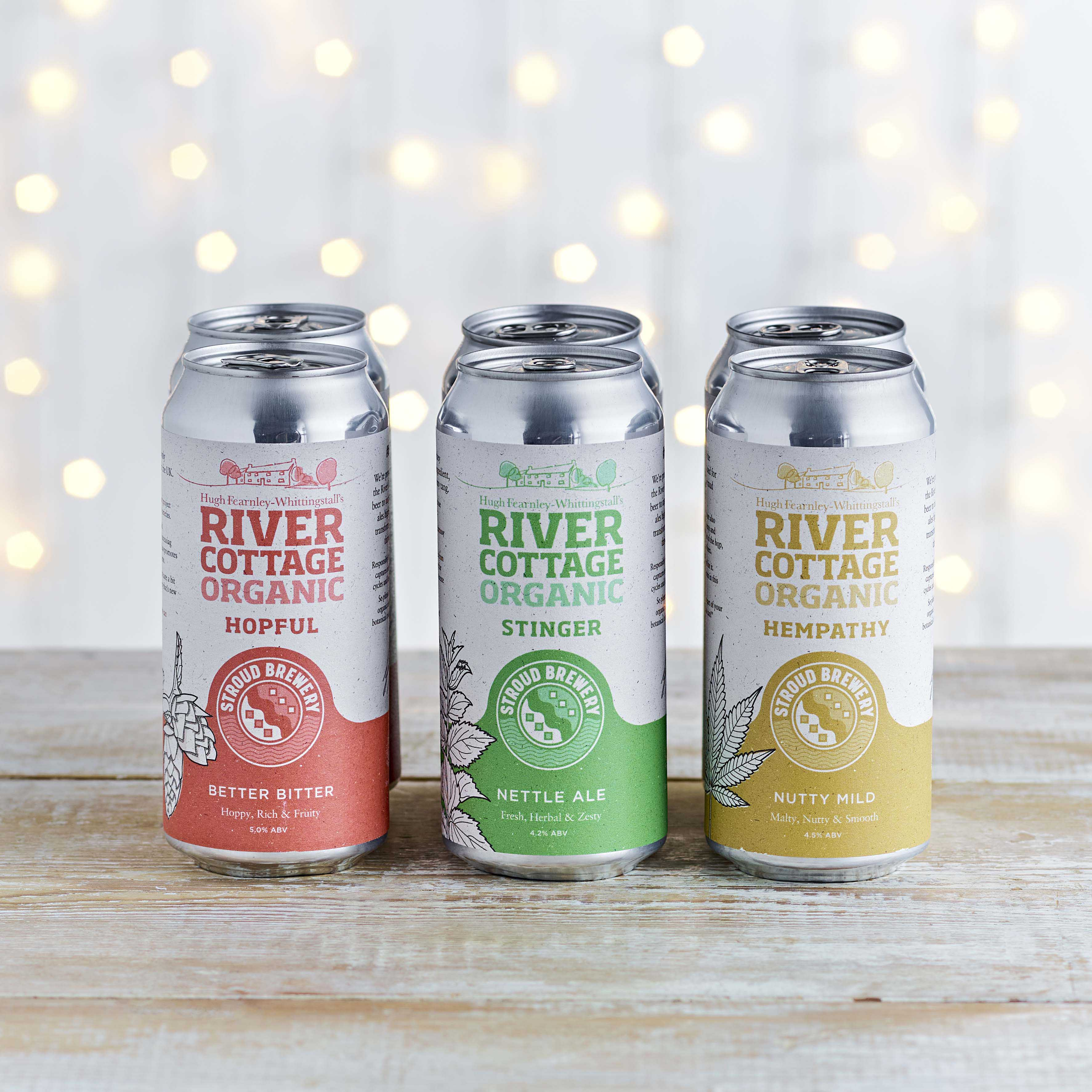 River Cottage Organic Mixed Beers Case, 12 Pack, 12 x 440ml