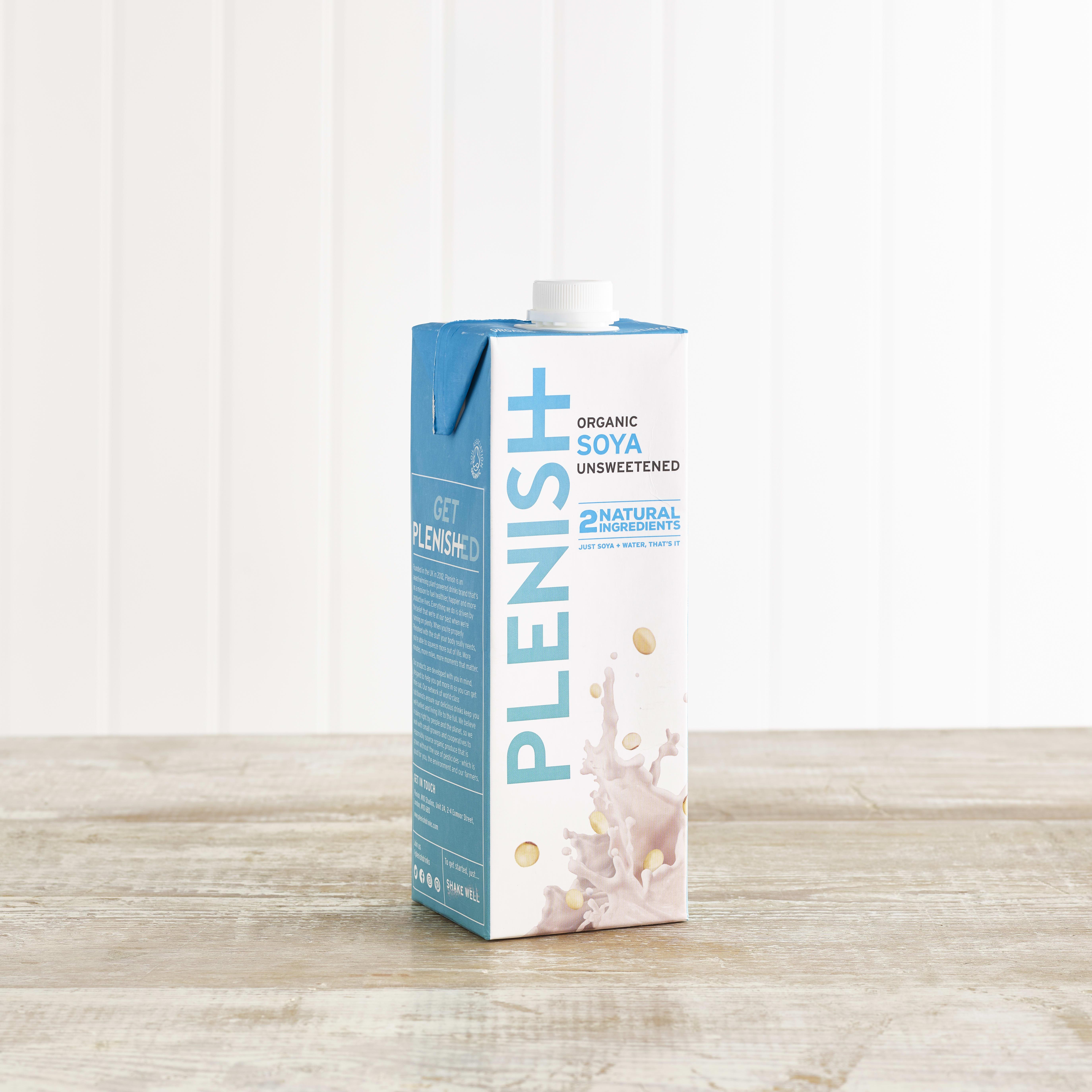 Plenish Organic Soya M*lk, 1L
