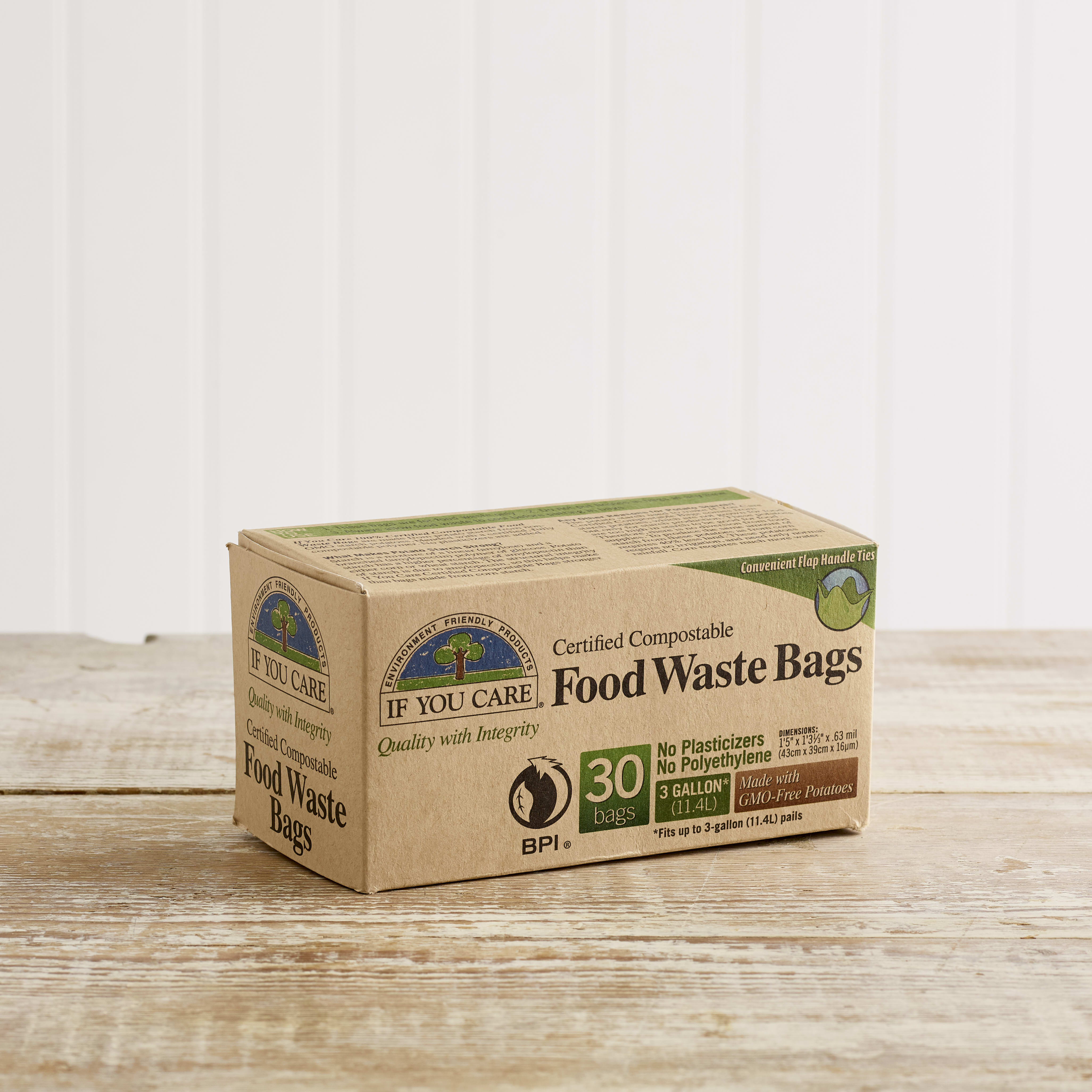 If You Care Compostable Food Waste Bags, 30 pack