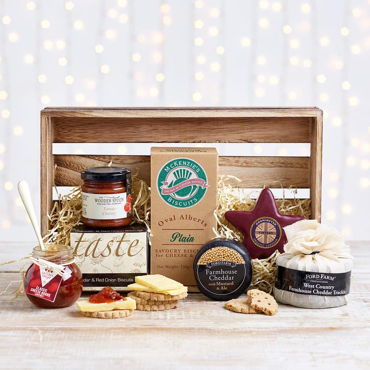 Spicers Cheese Crate Hamper