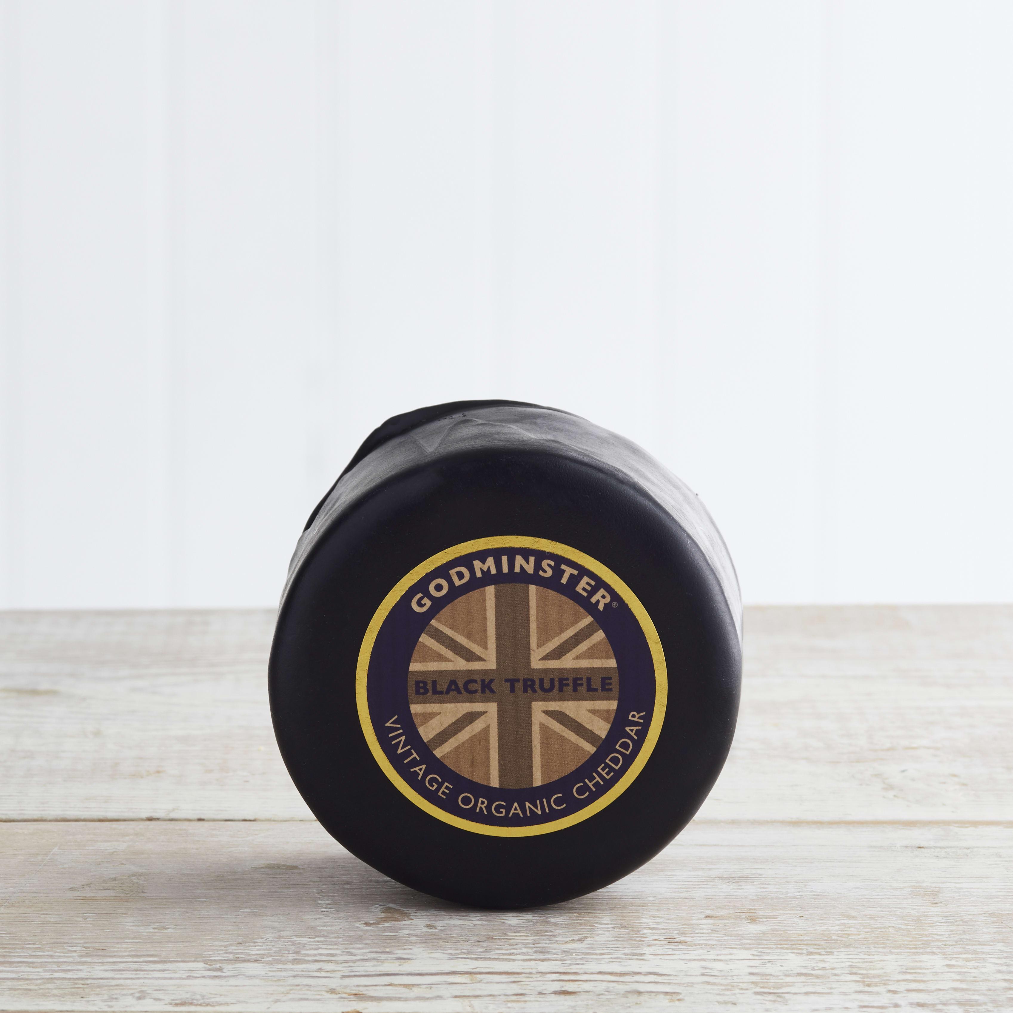 Godminster Black Truffle Organic Cheddar, 200g