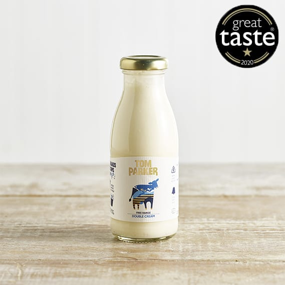 Tom Parker Double Cream in Glass, 250ml