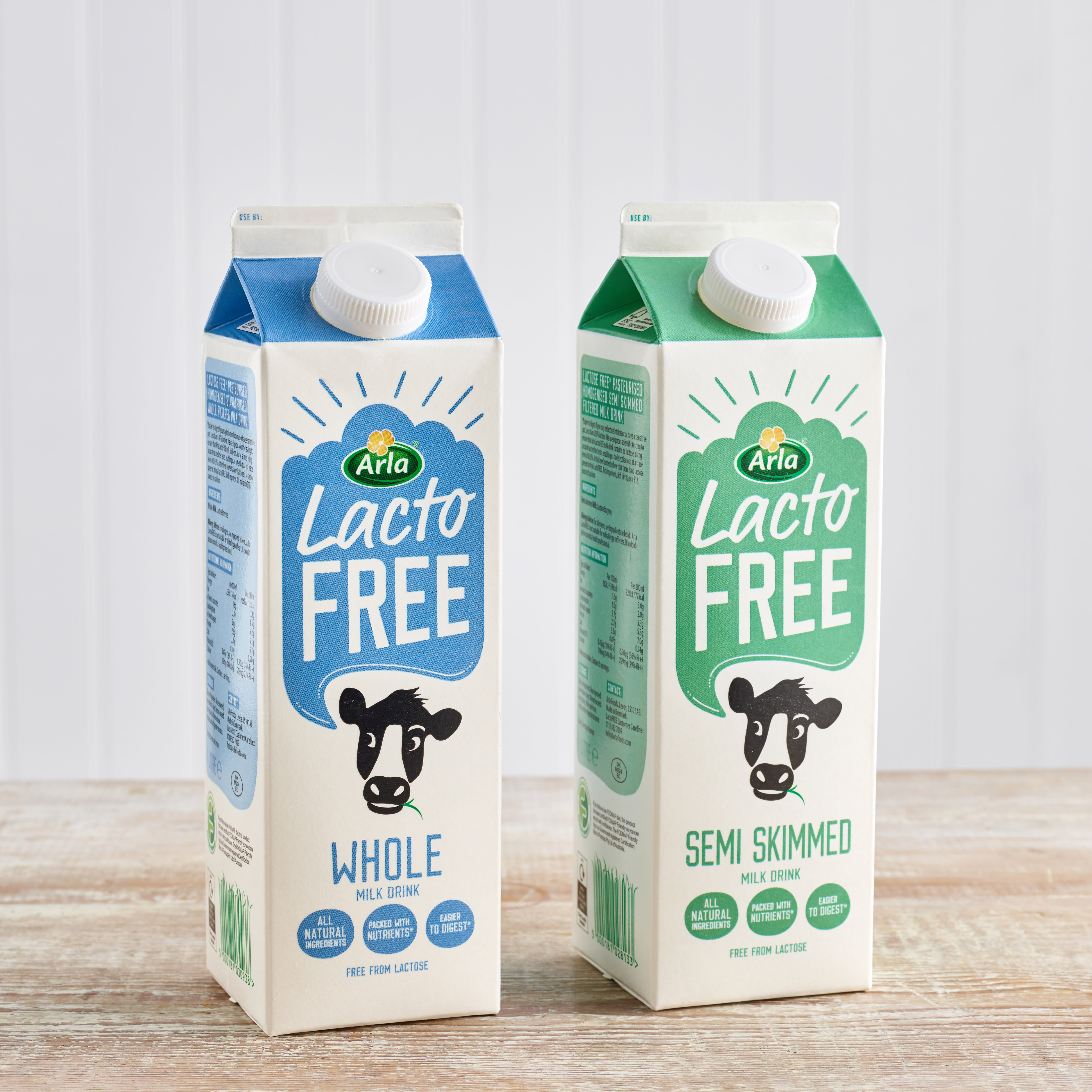 Lactofree Fresh Whole Milk, 1L