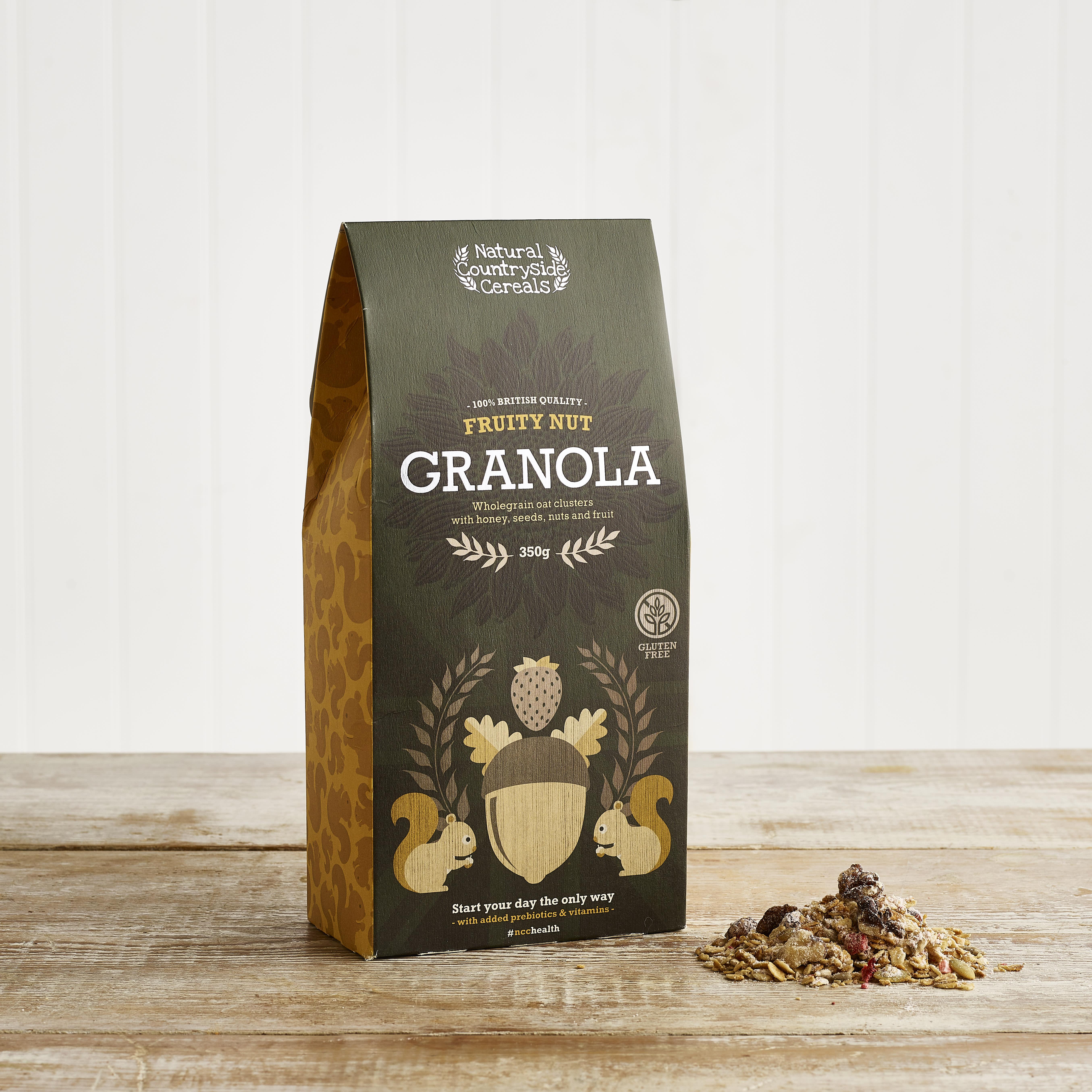 Shropshire Granola Fruity Nut Granola, 350g