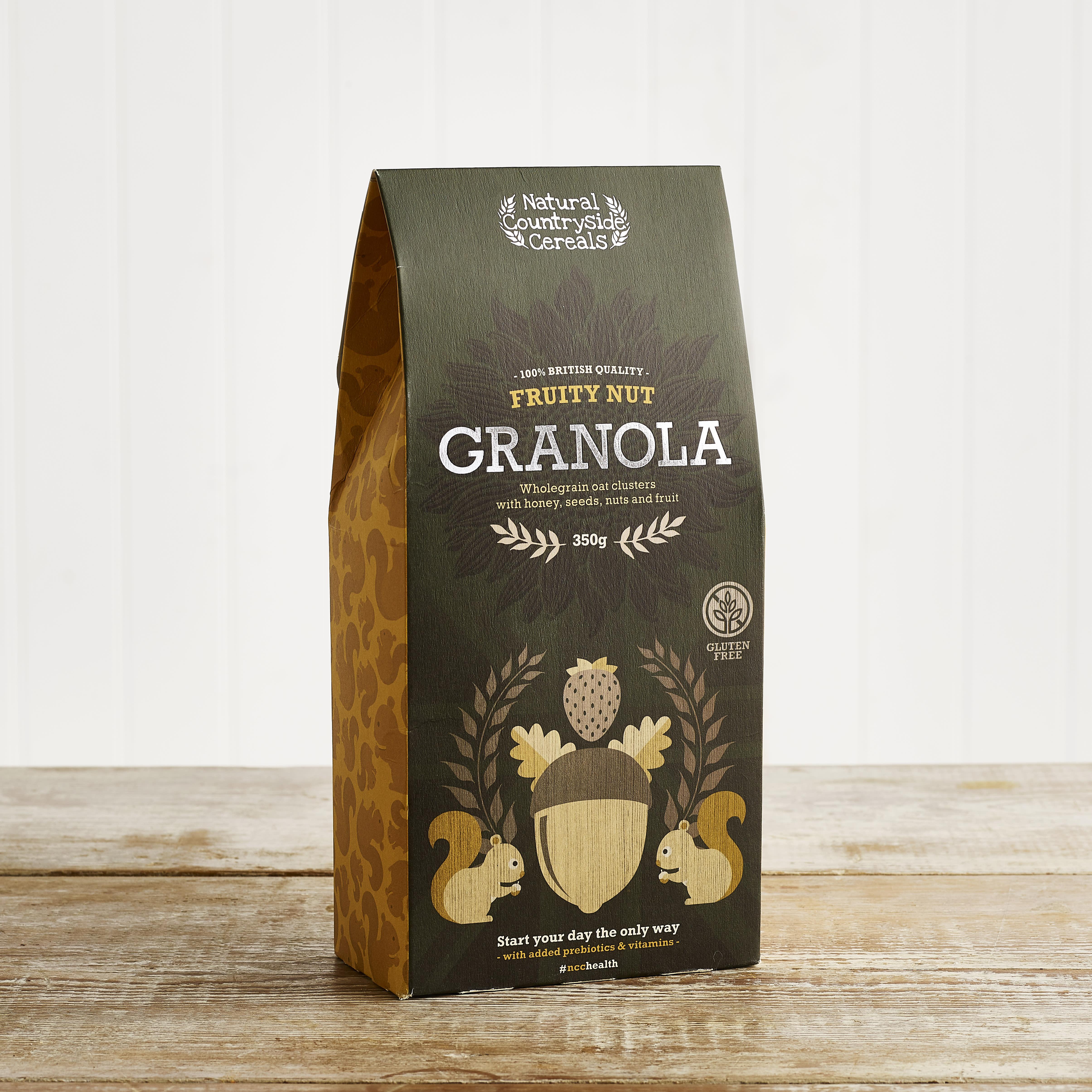 Shropshire Granola Fruity Nut Granola, 300g