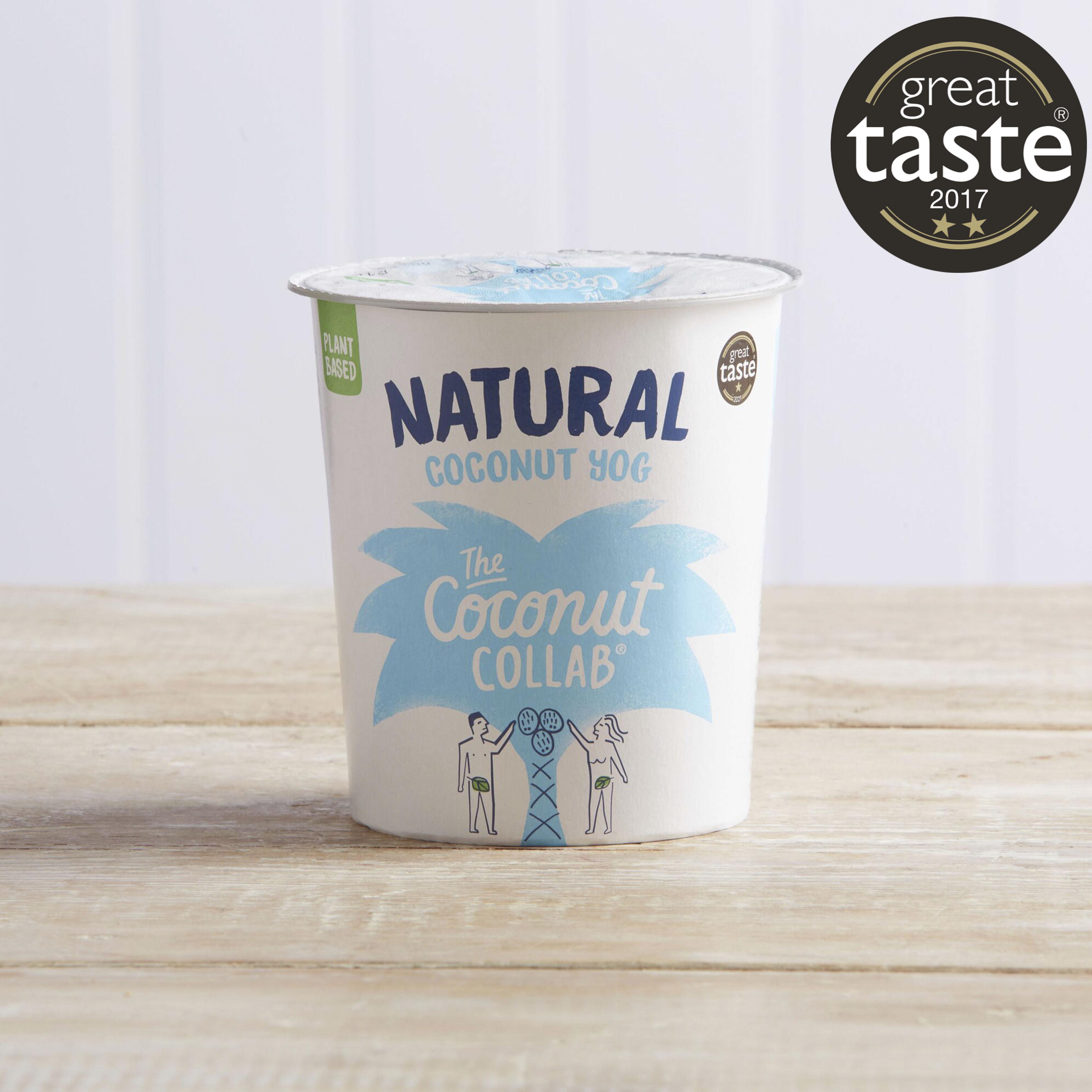 The Coconut Collaborative Dairy Free Natural Coconut Yoghurt Alternative, 350g